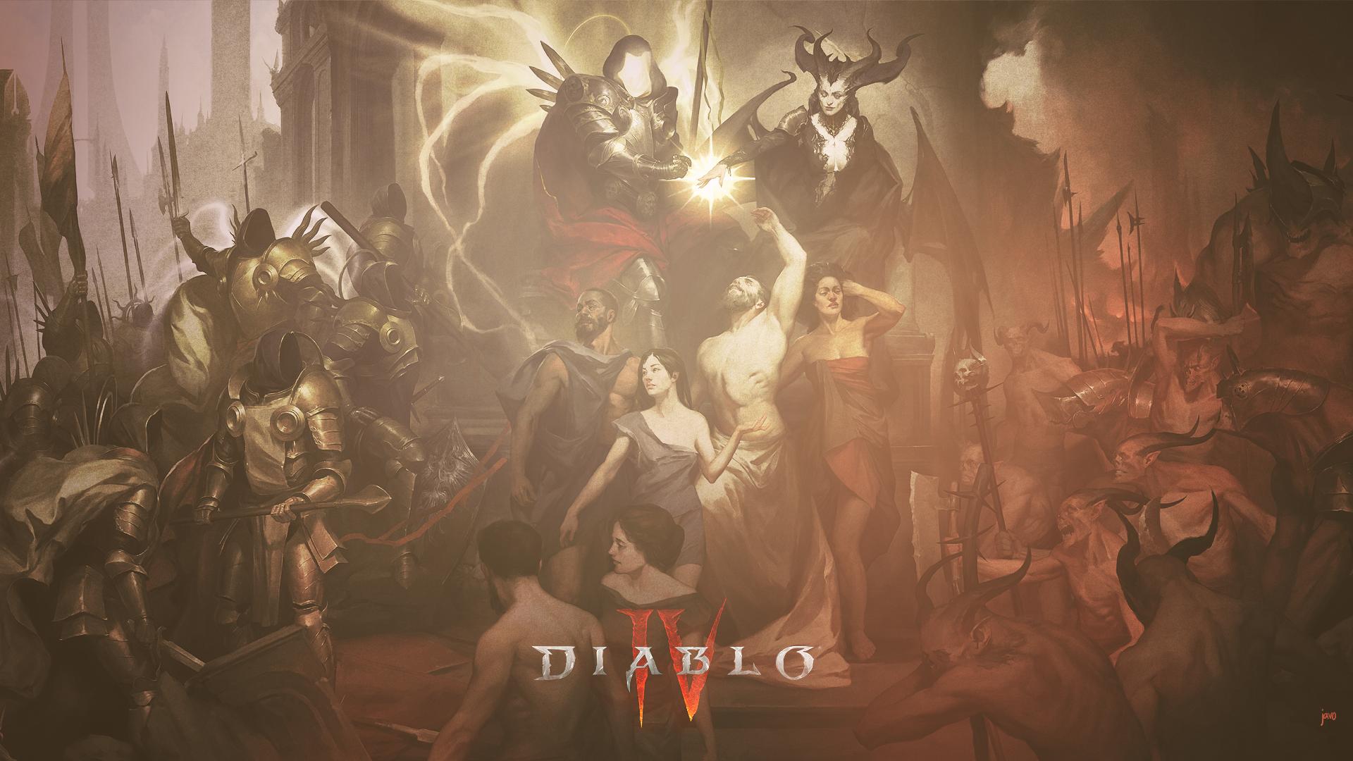 General 1920x1080 diablo 4 diablo iv Diablo RPG Lilith Lilith (Diablo) sanctuary javo Blizzard Entertainment BlizzCon