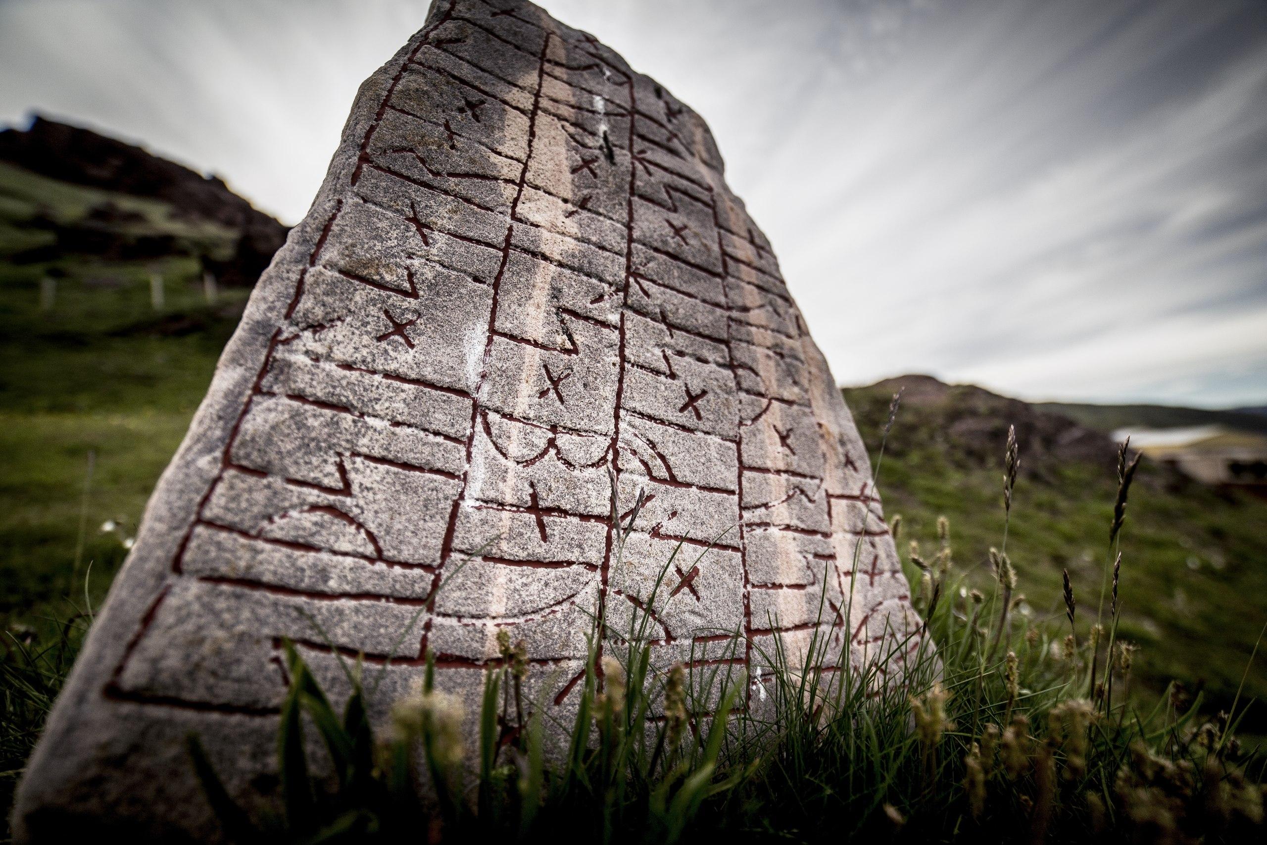 General 2560x1707 nature viking runes Scandinavia low-angle
