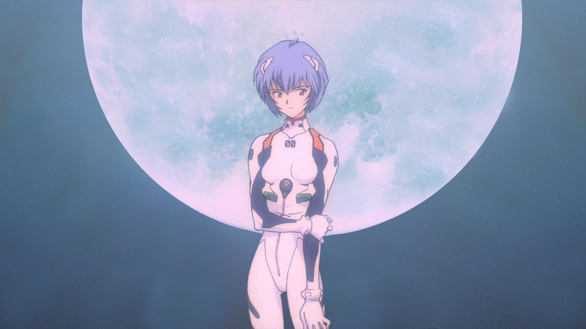 Anime 1920x1080 Ayanami Rei Neon Genesis Evangelion anime girls