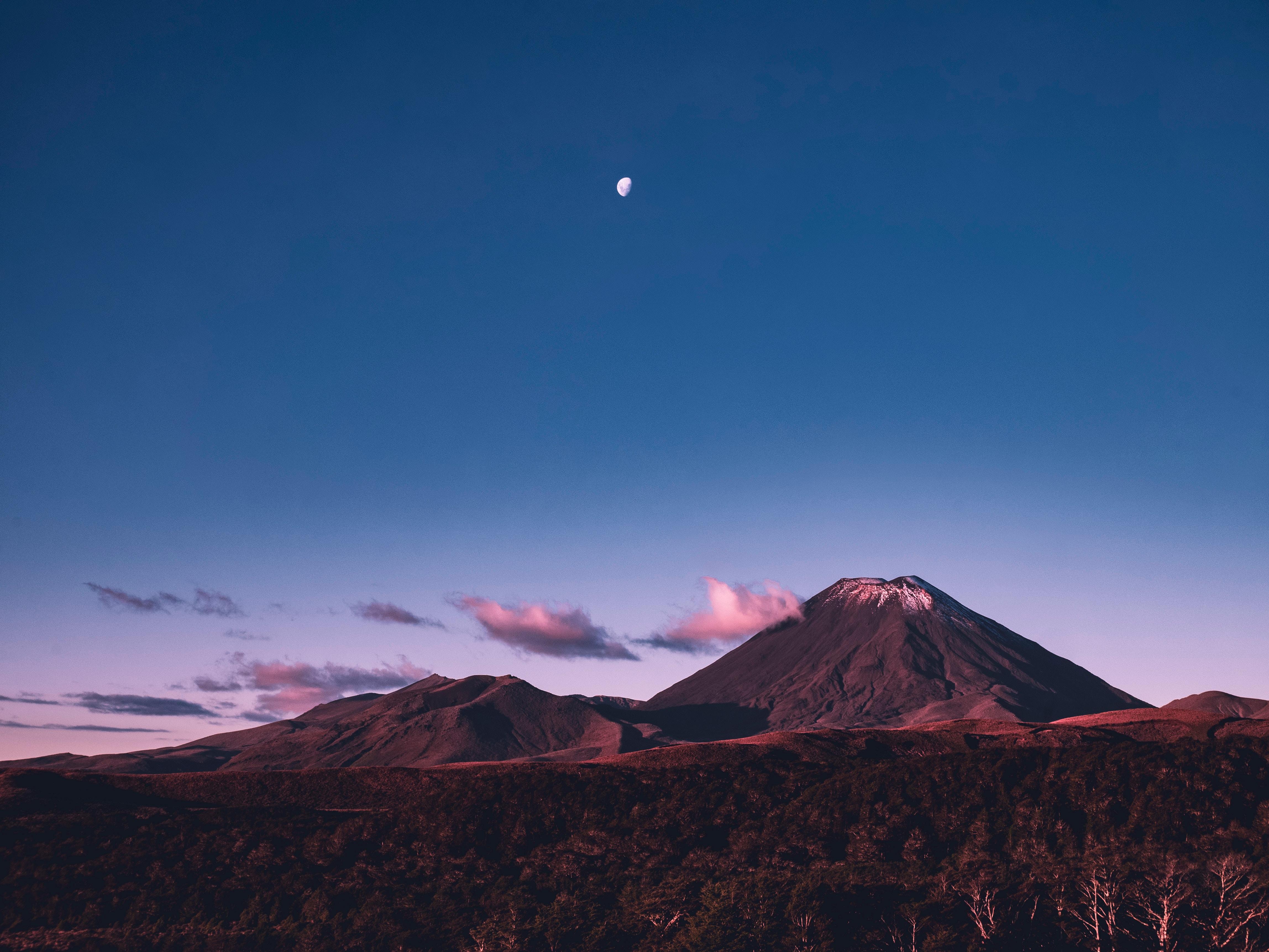 General 4592x3448 landscape nature New Zealand Tongariro National Park volcano
