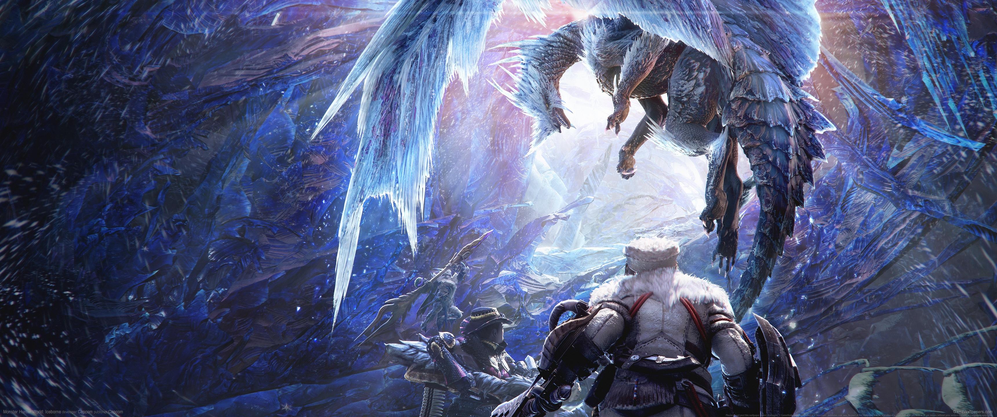 General 3440x1440 video games video game art ultrawide ultra-wide Monster Hunter: World