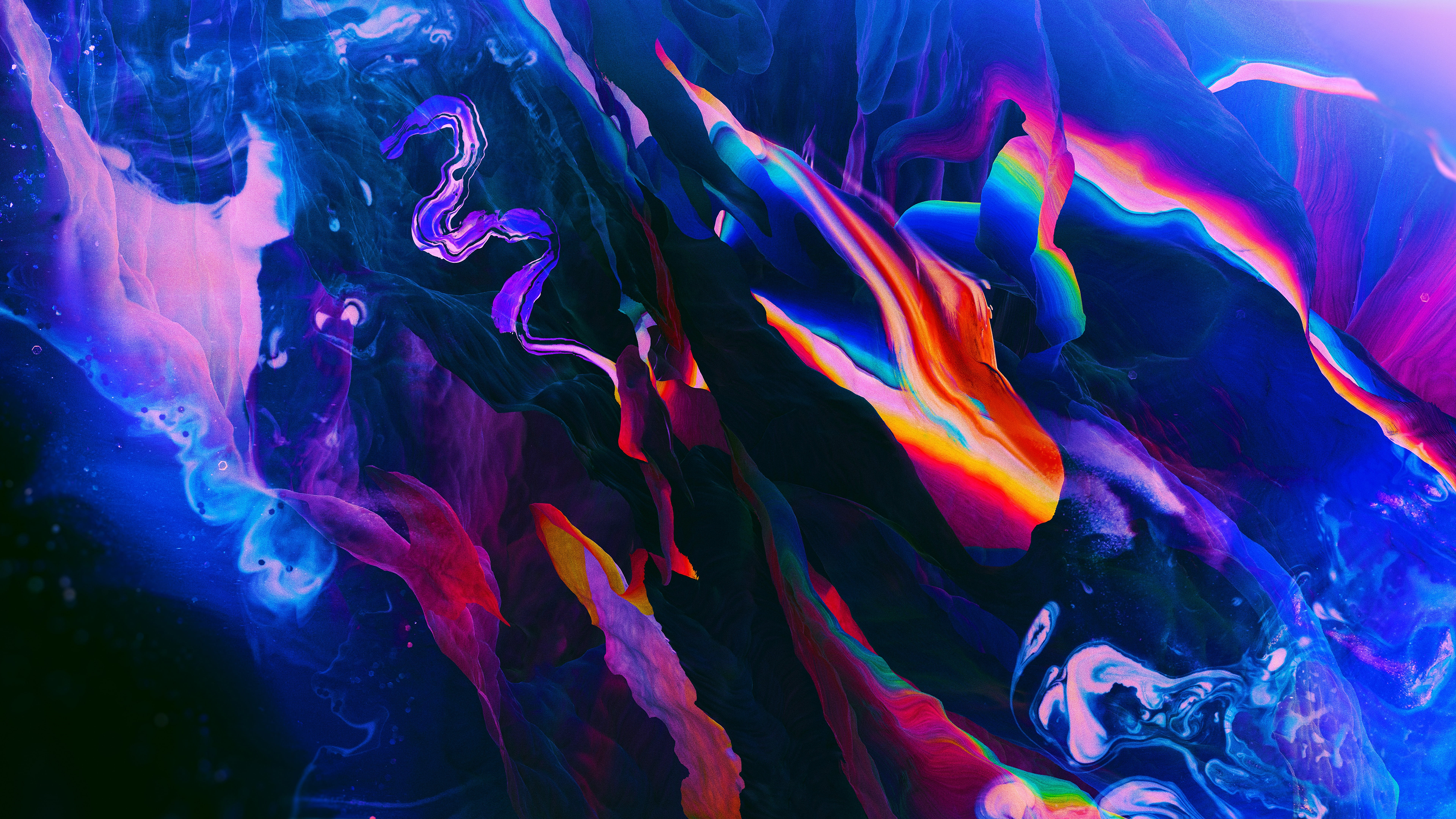 General 3840x2160 abstract colorful digital art