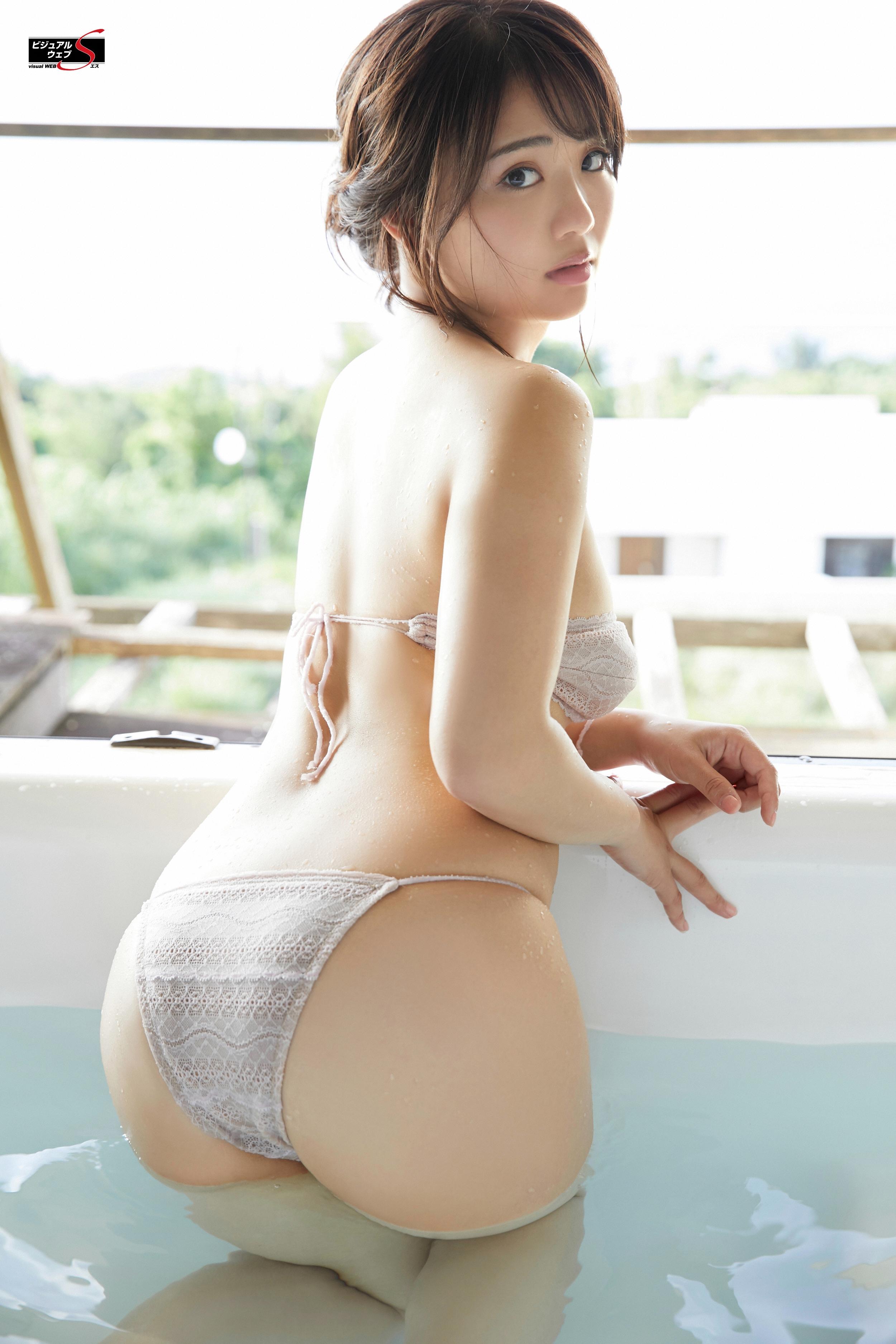 People 2500x3750 Japanese women Japanese women Asian gravure Natsumi Hirajima YS-Web big boobs natural boobs women indoors ass