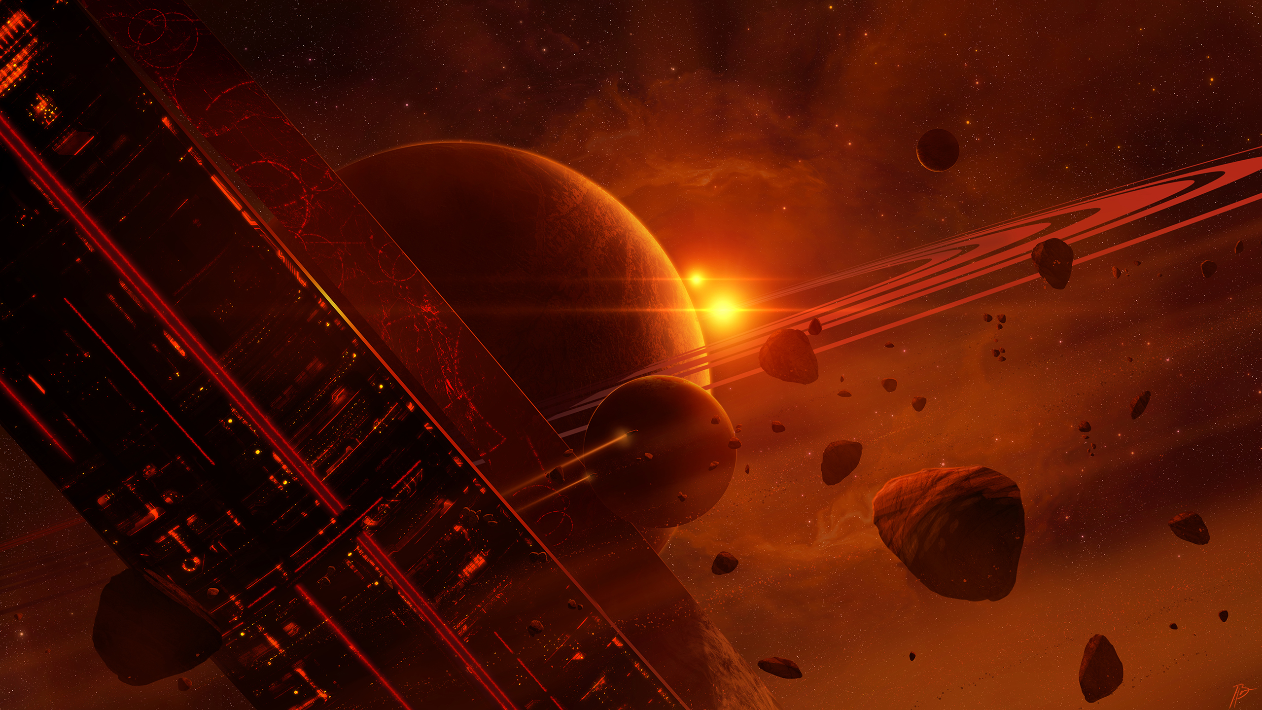 General 2560x1440 space art JoeyJazz Halo 2