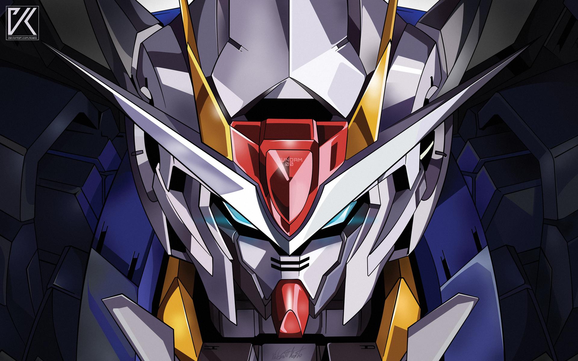 Anime 1920x1200 Gundam Gundam 00 exia Mobile Suit Gundam Mobile Suit Gundam 00 robot anime