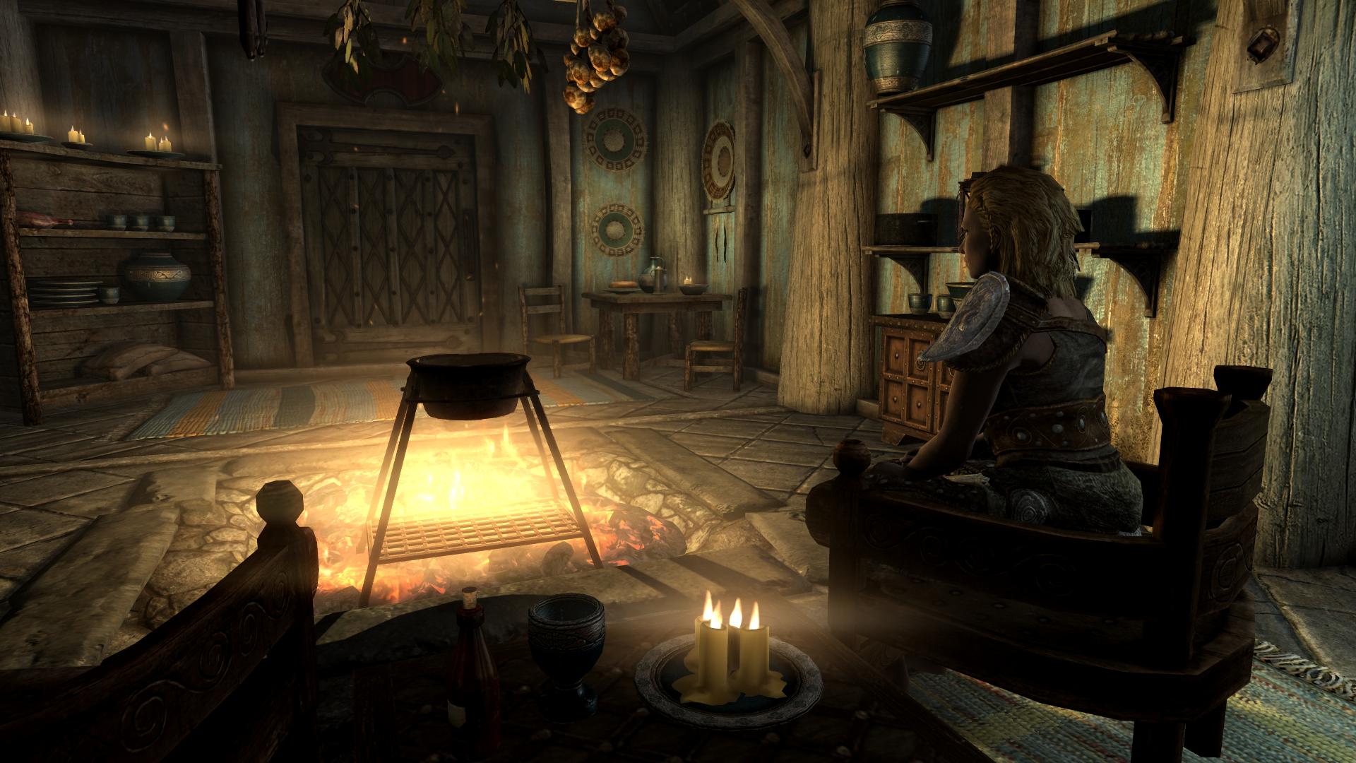 General 1920x1080 The Elder Scrolls V: Skyrim viking RPG screen shot PC gaming