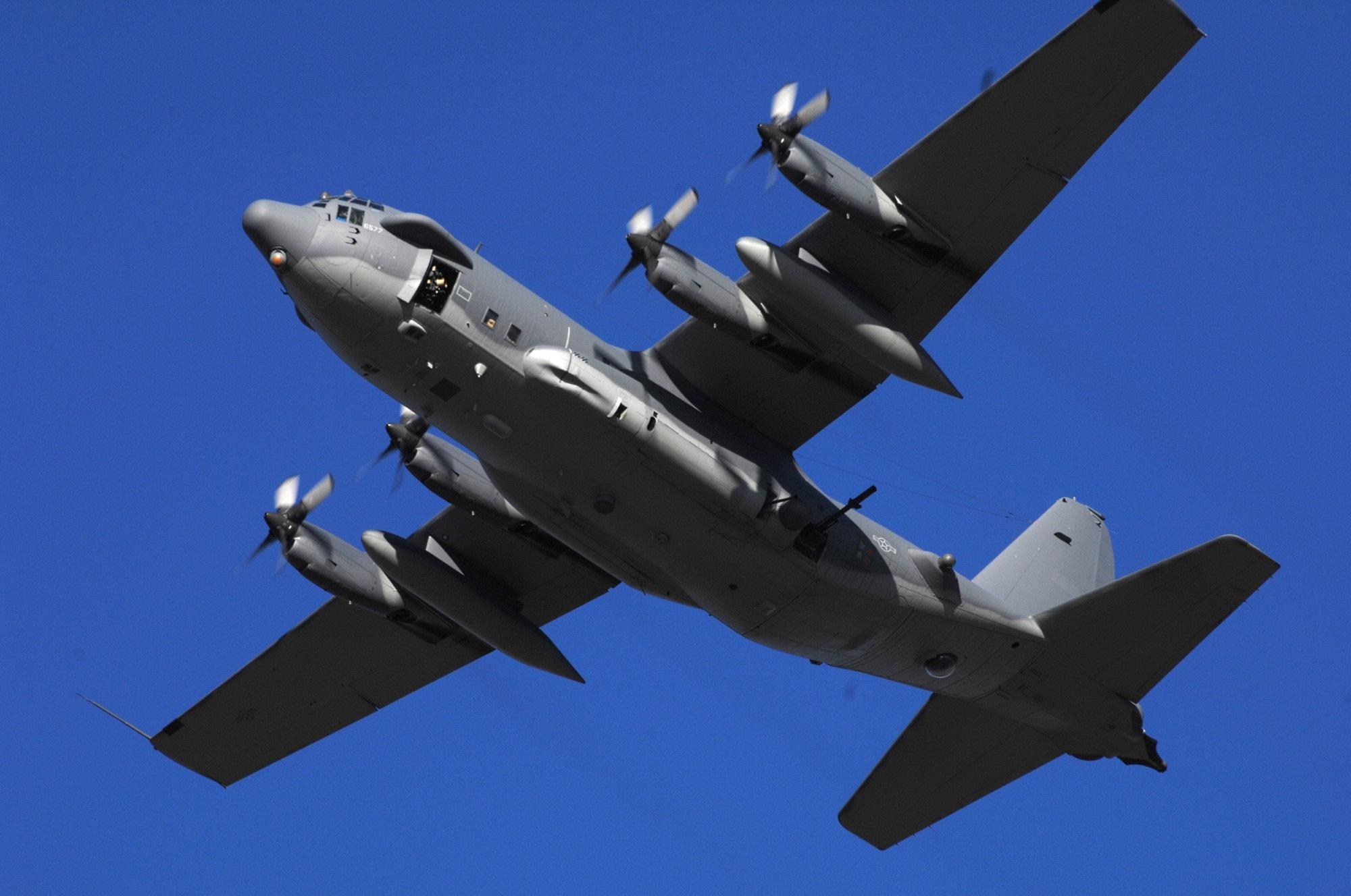 General 2000x1328 Lockheed AC-130 Close Air Support Gunship Fixed-wing Ground-attack Gunship military aircraft