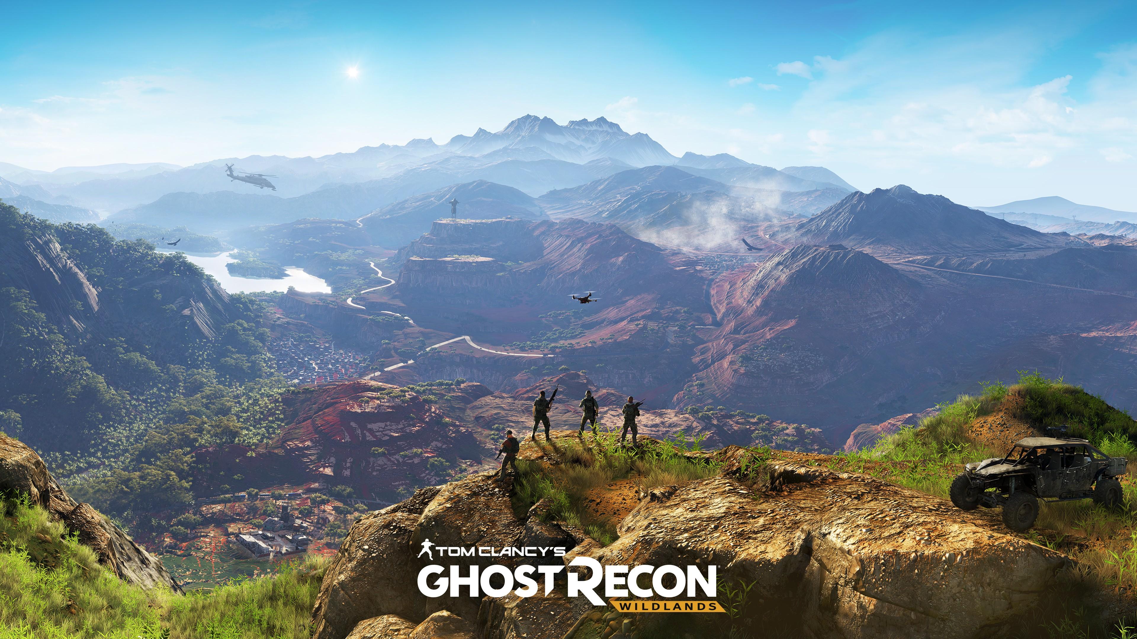 General 3840x2160 Ubisoft PC gaming Tom Clancy's Ghost Recon Tom Clancy's Ghost Recon Tom Clancy's Ghost Recon: Wildlands