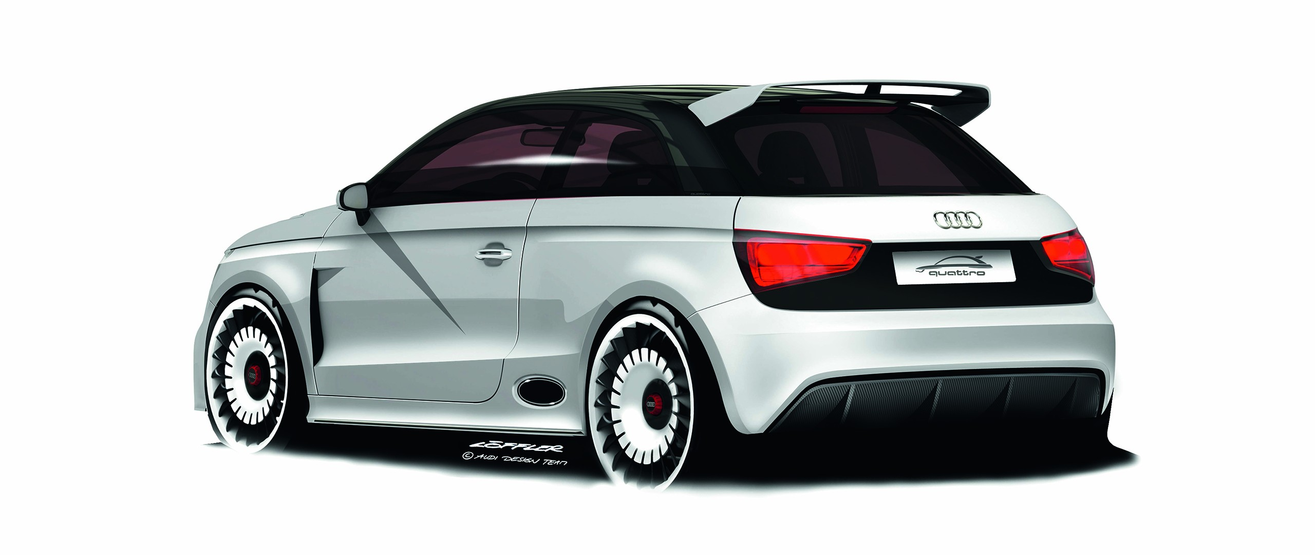 General 2560x1080 Audi A1 car vehicle simple background artwork