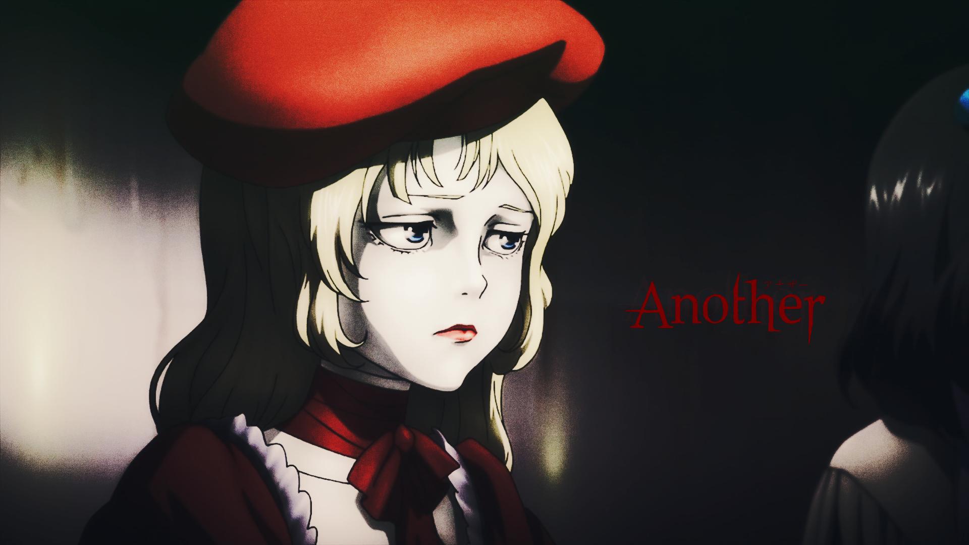 Anime 1920x1080 Another anime girls doll 2D blue eyes long hair blond hair