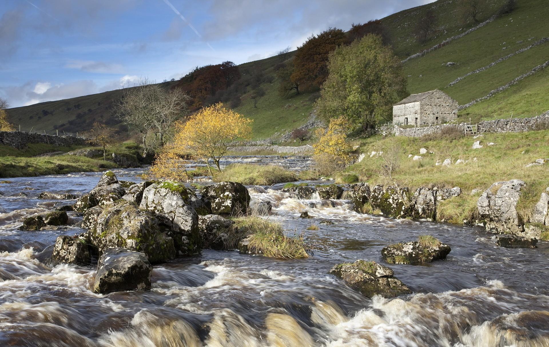 General 1920x1216 landscape nature river stones water
