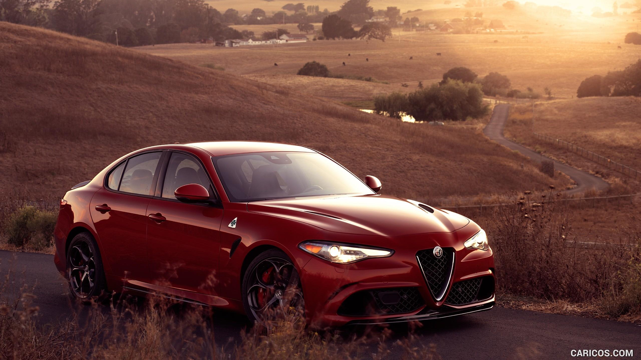 General 2560x1440 Alfa Romeo red cars italian cars Italy
