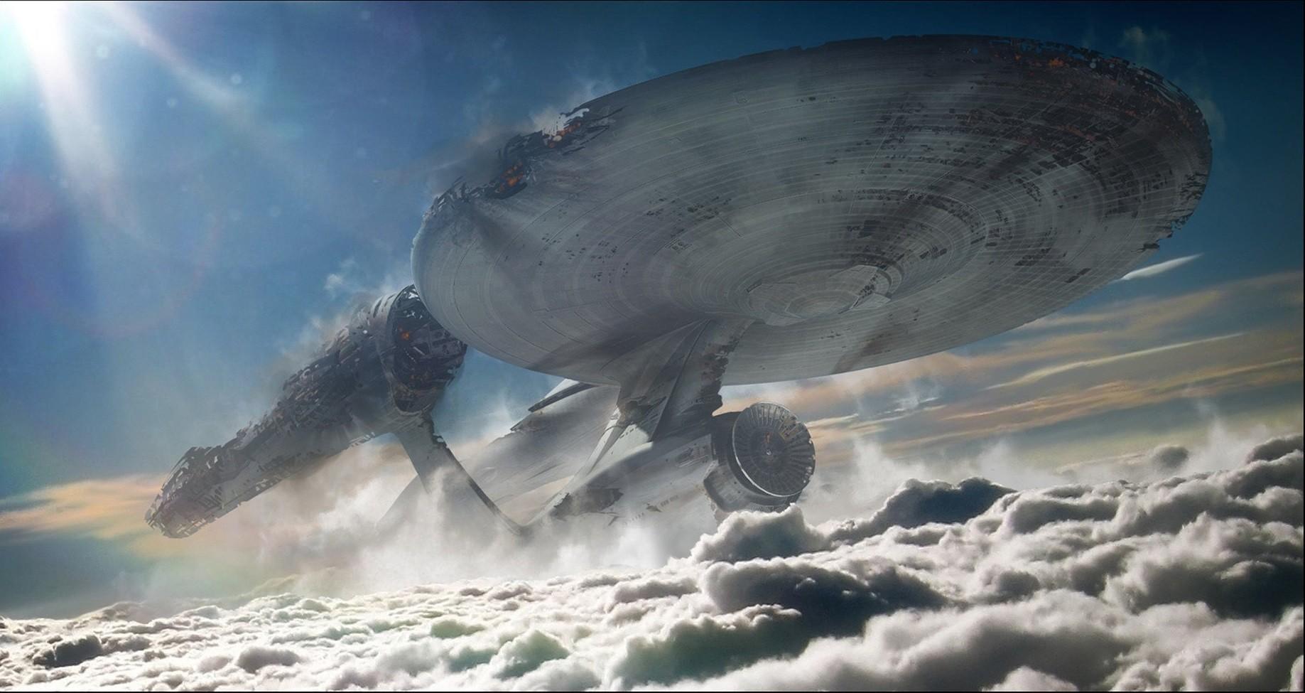 General 1837x975 Star Trek Star Trek: Enterprise spaceship vehicle Star Trek Ships movies digital art