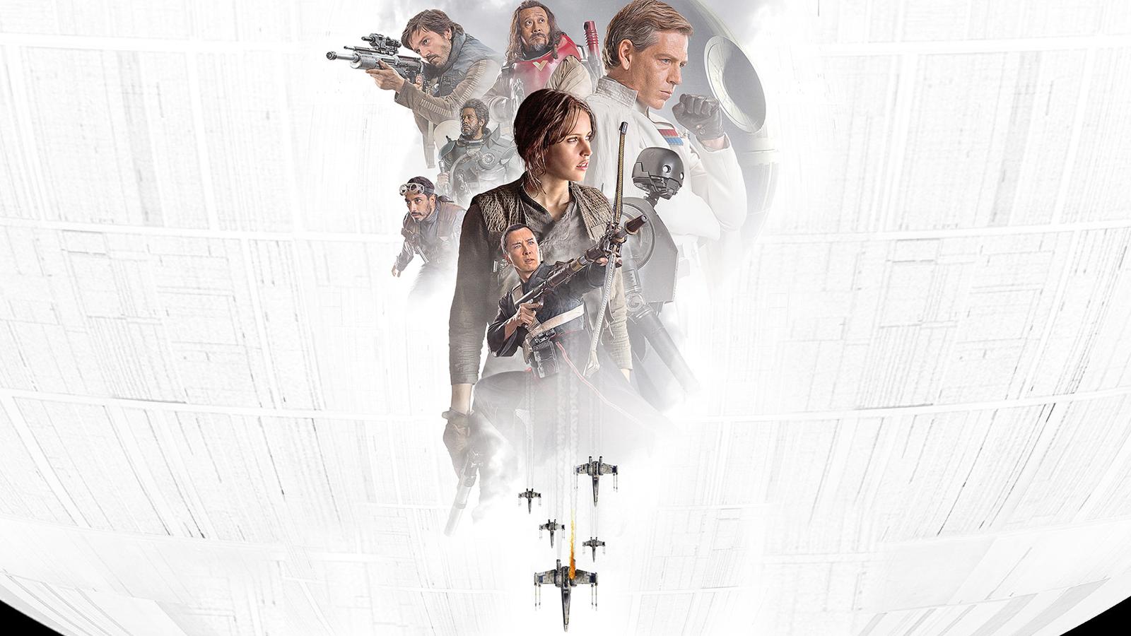 General 1600x900 Star Wars Rogue One: A Star Wars Story Felicity Jones movies Death Star Jyn Erso