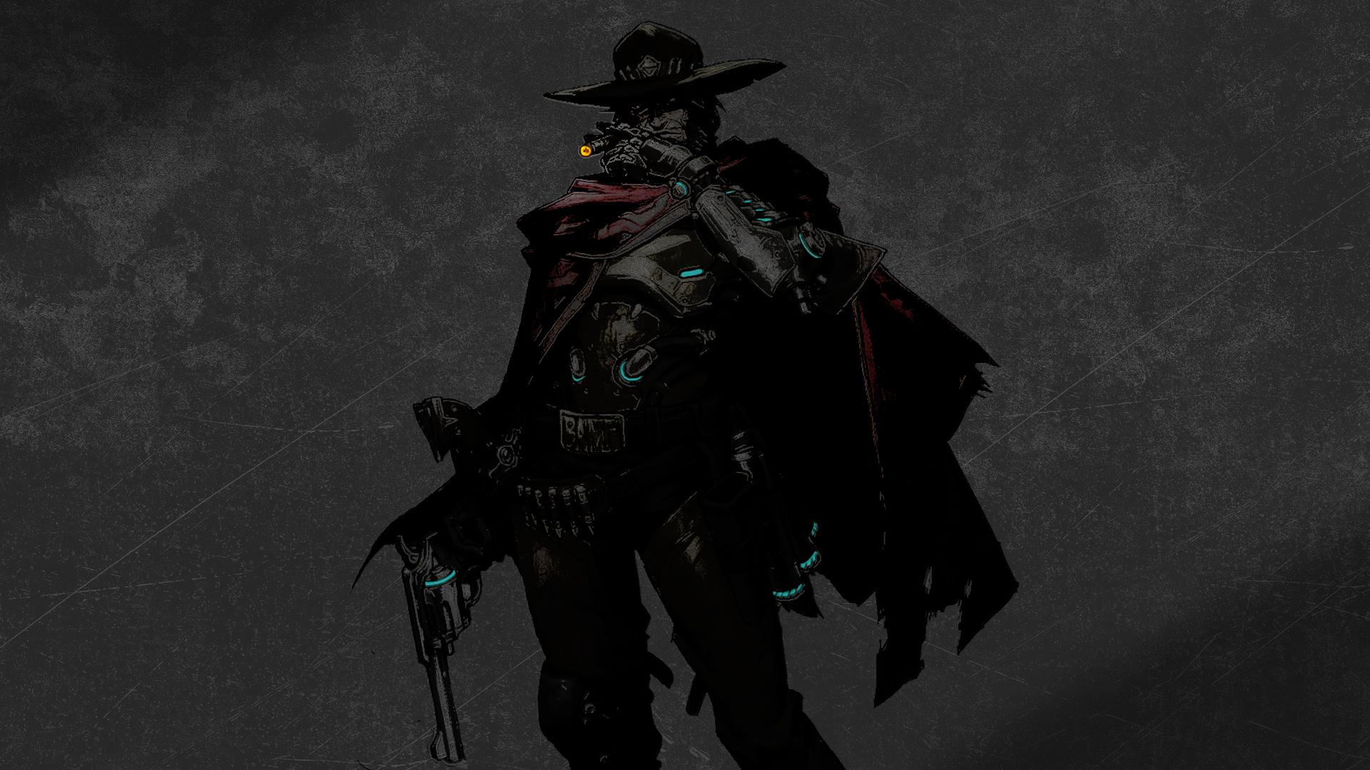 General 1920x1080 Overwatch McCree (Overwatch) Blizzard Entertainment