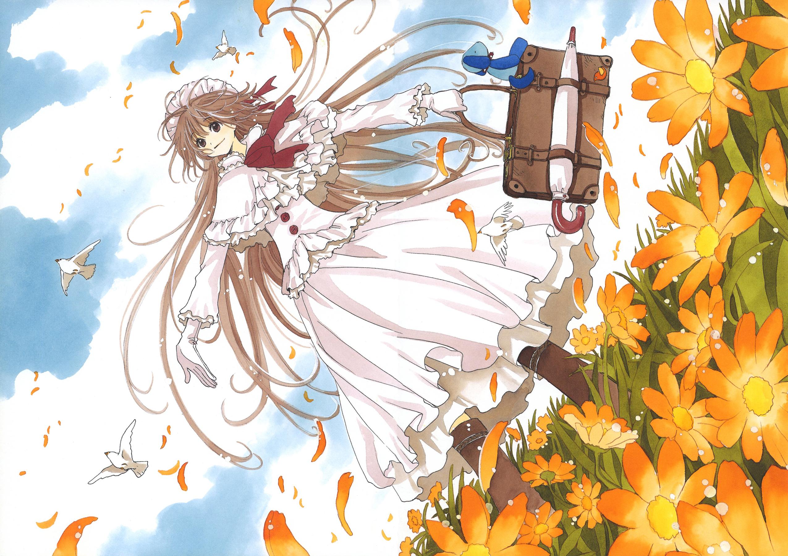 Anime 2550x1801 CLAMP Kobato Hanato Kobato anime girls