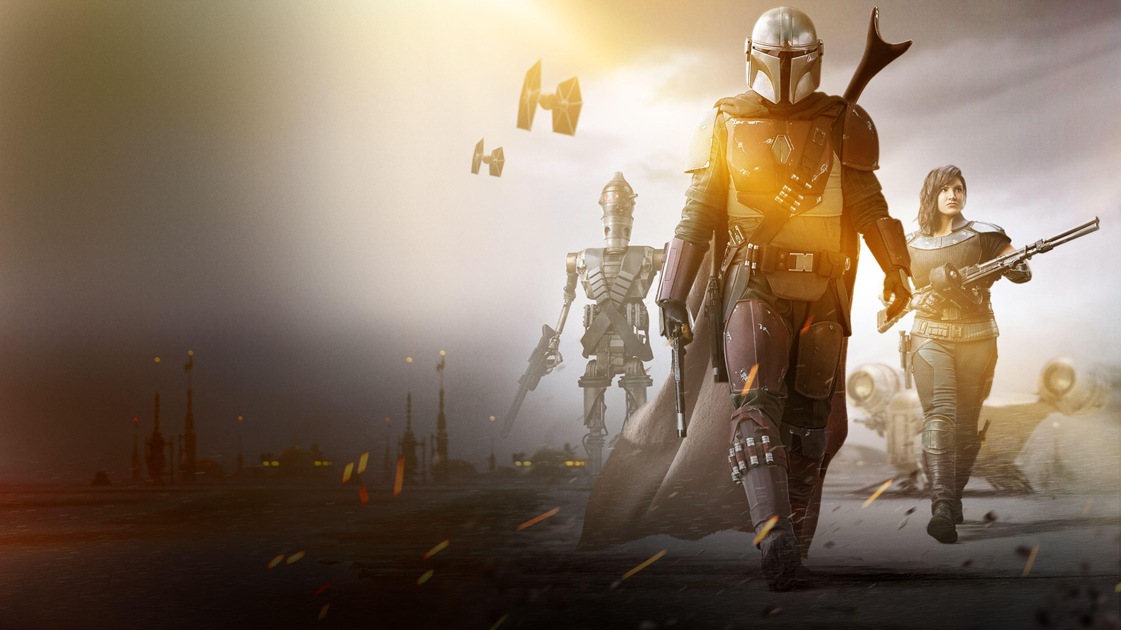 General 3840x2160 The Mandalorian Star Wars science fiction TV Series