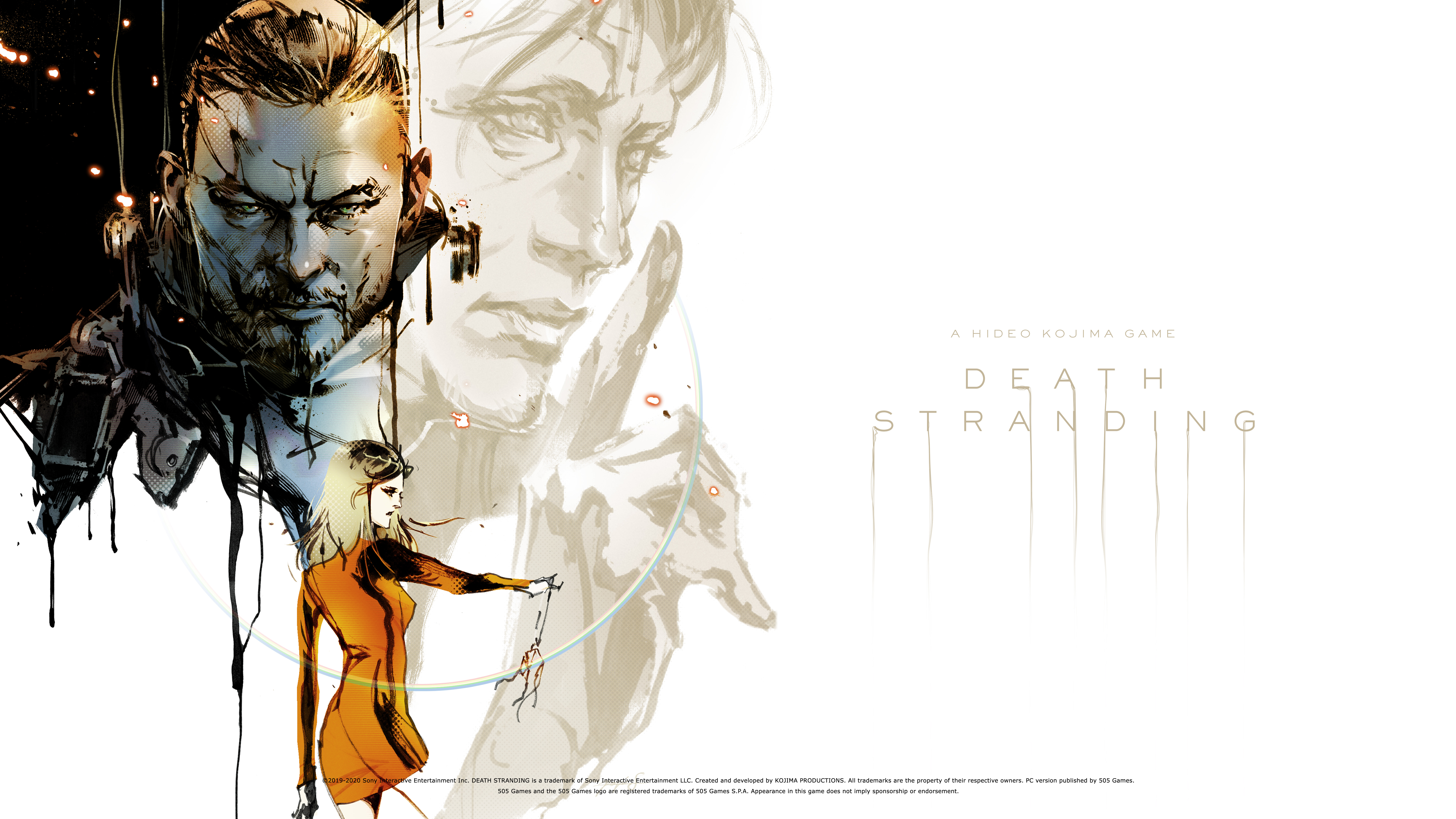 General 7680x4320 Death Stranding Hideo Kojima concept art video games video game art