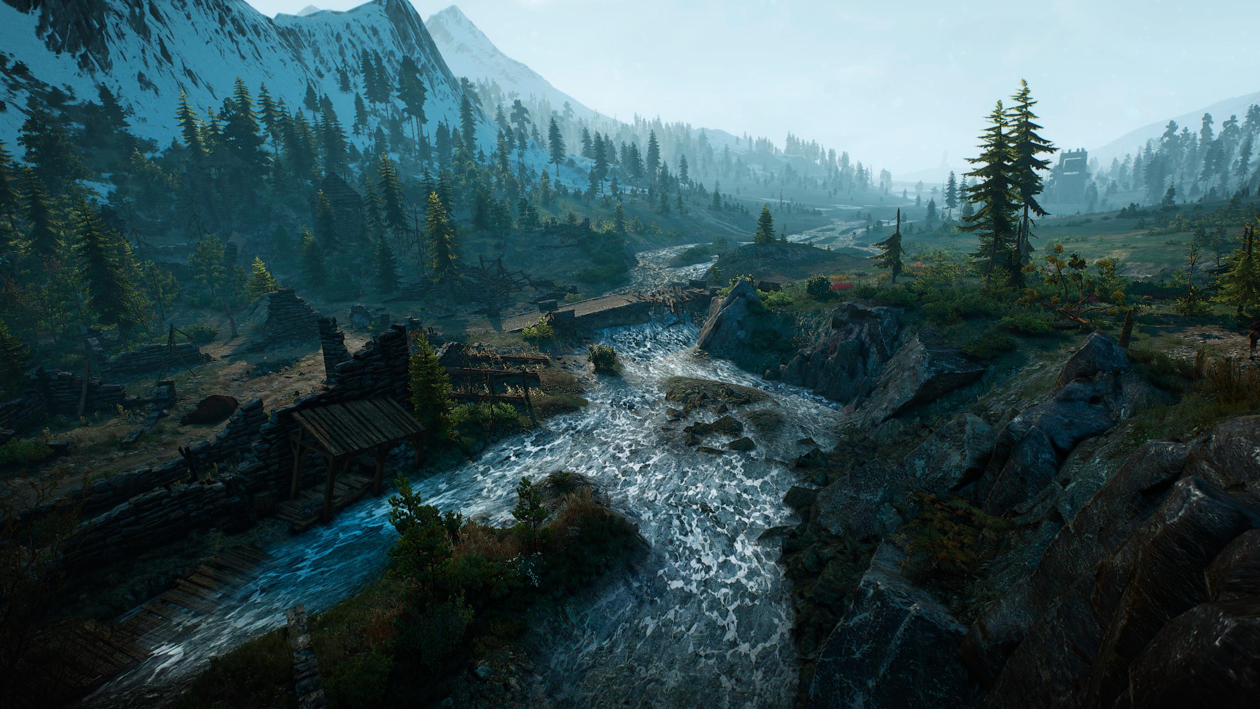 General 2560x1440 landscape video game art video games screen shot The Witcher 3: Wild Hunt