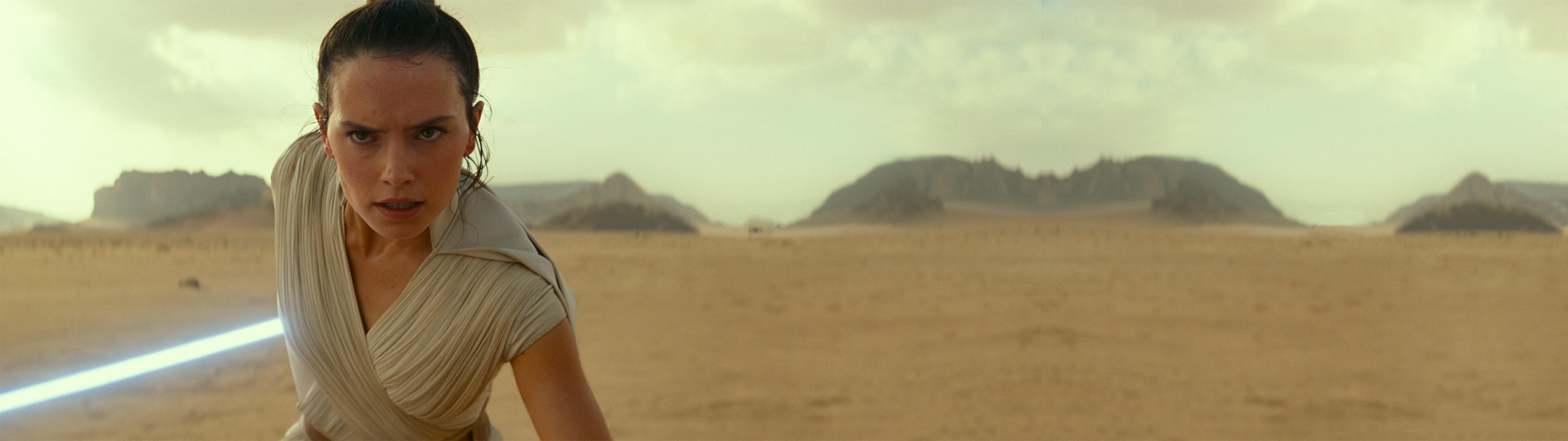 Rey Rey From Star Wars Star Wars Dual Display Dual Monitors