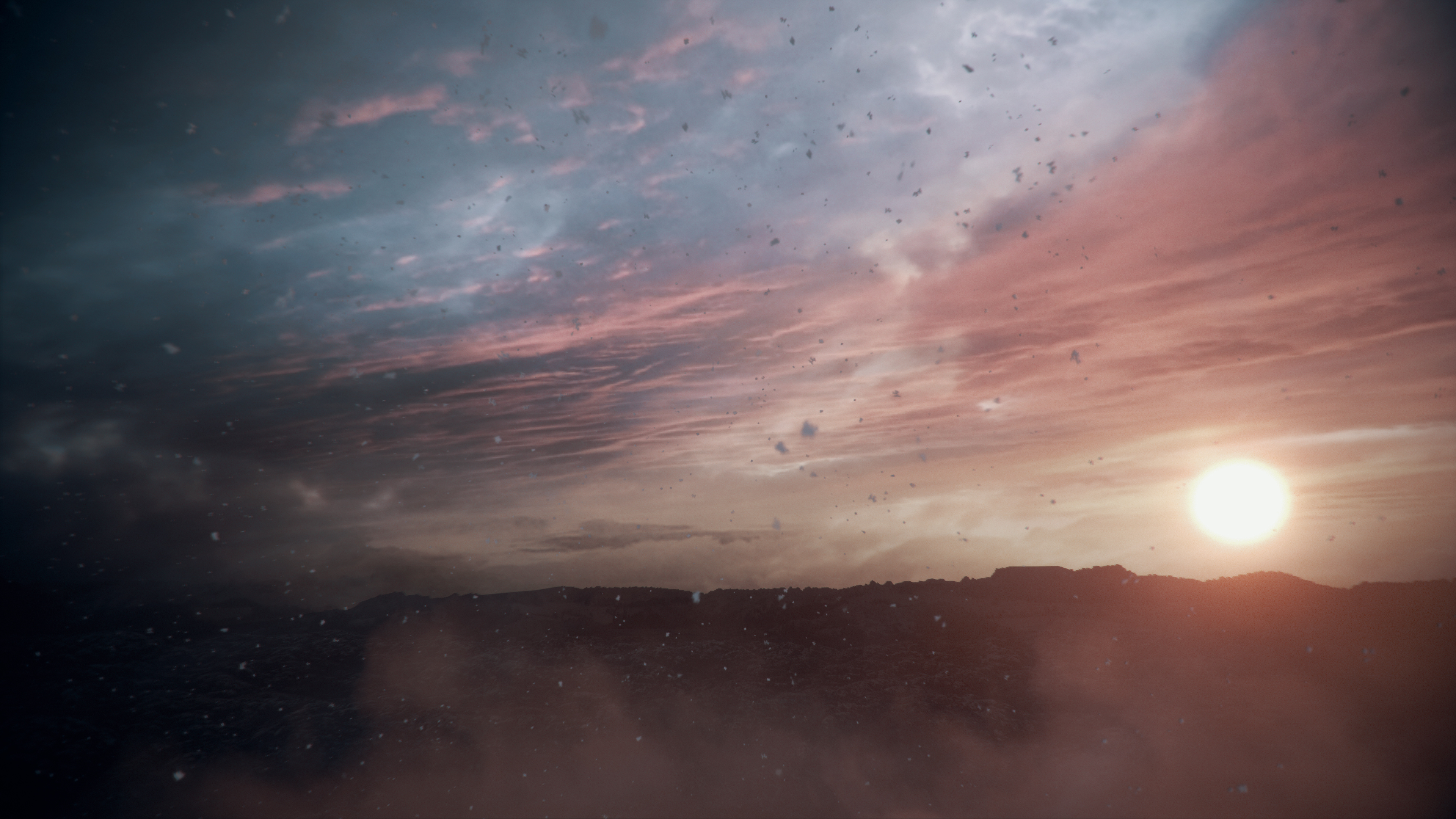 General 3840x2160 A Plague Tale Innocence Sun sunset video games sky