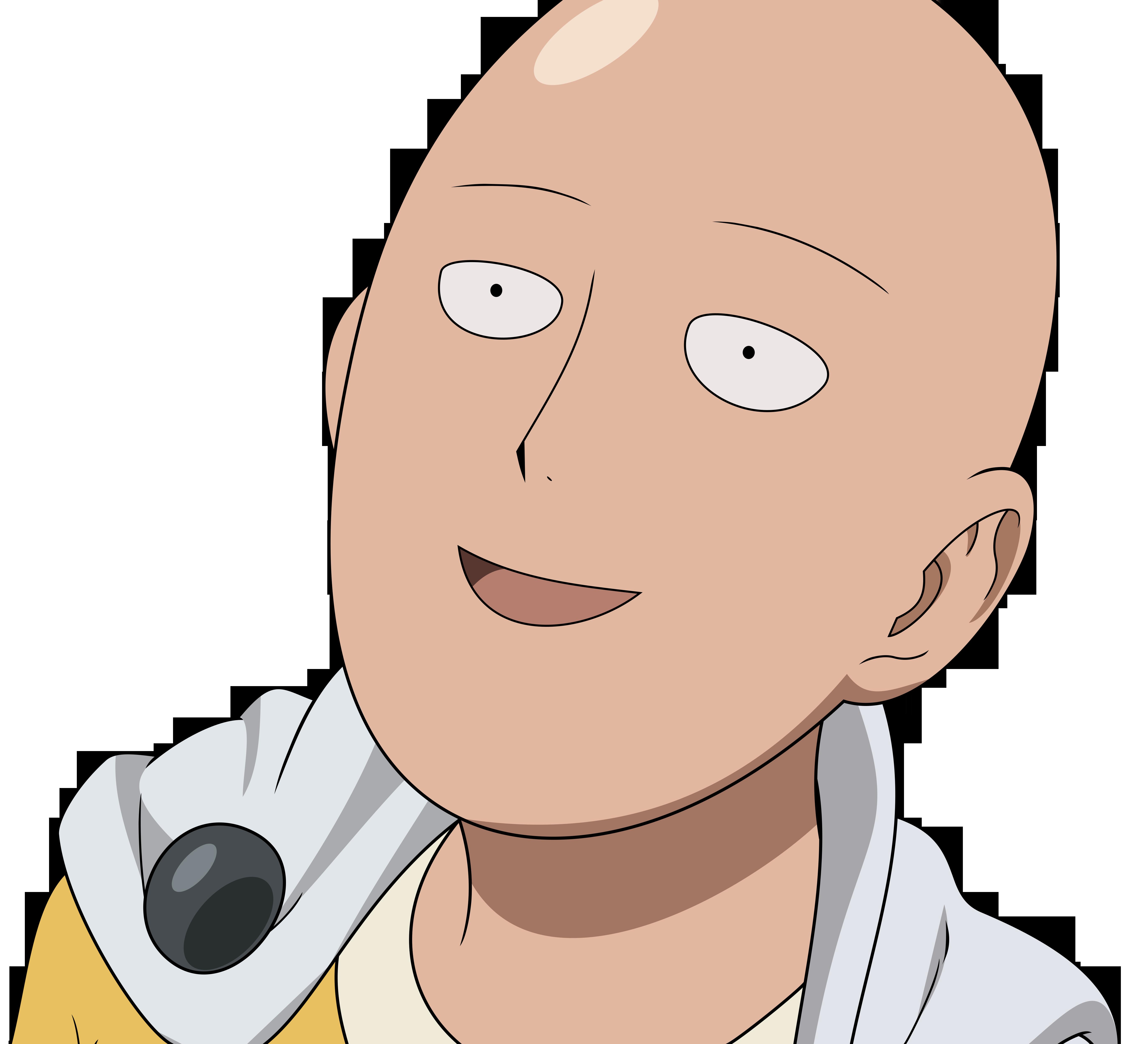 Anime 5500x5000 One-Punch Man anime Saitama