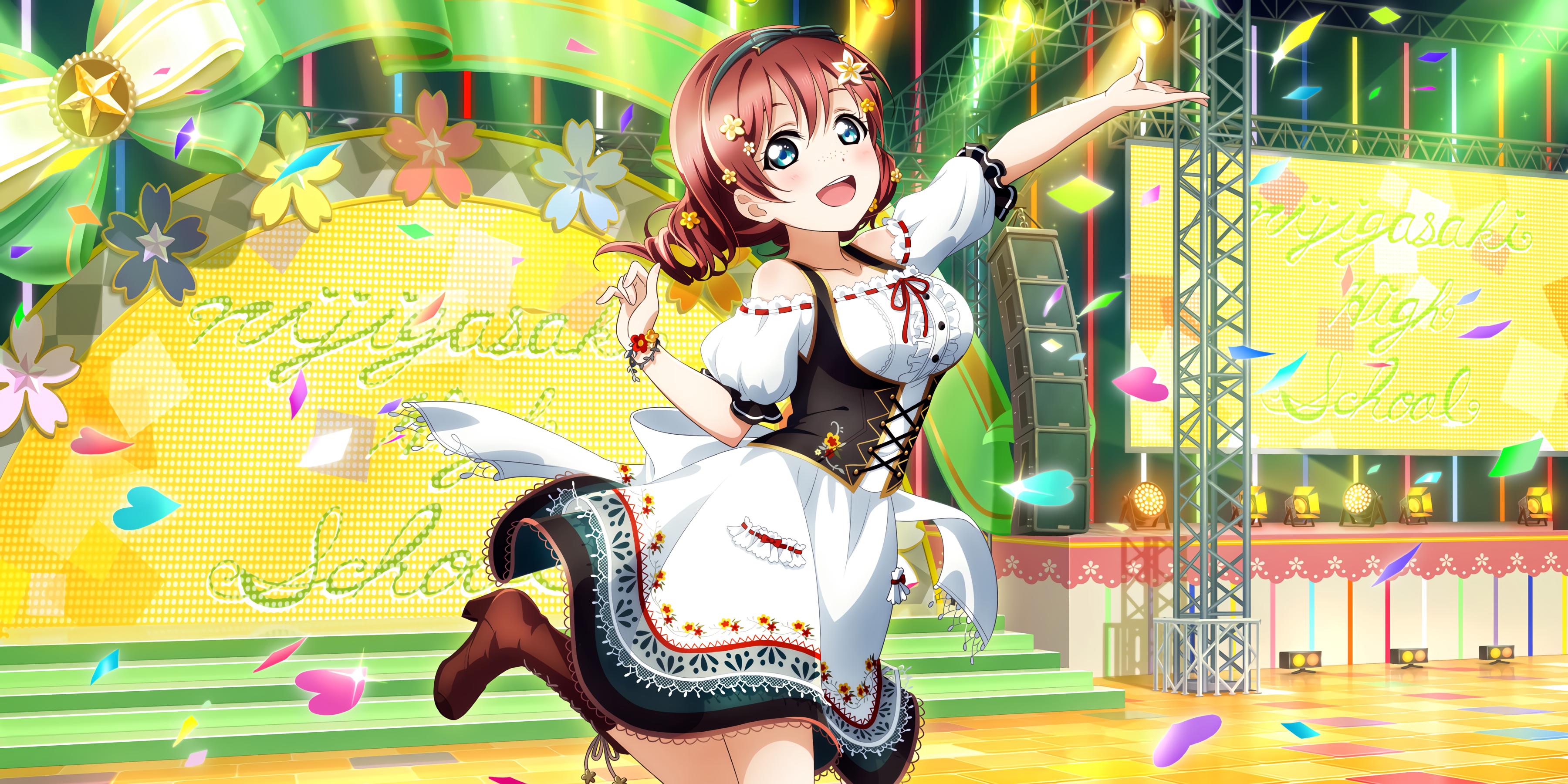 Anime 3600x1800 Love Live! Love Live Series Emma Verde