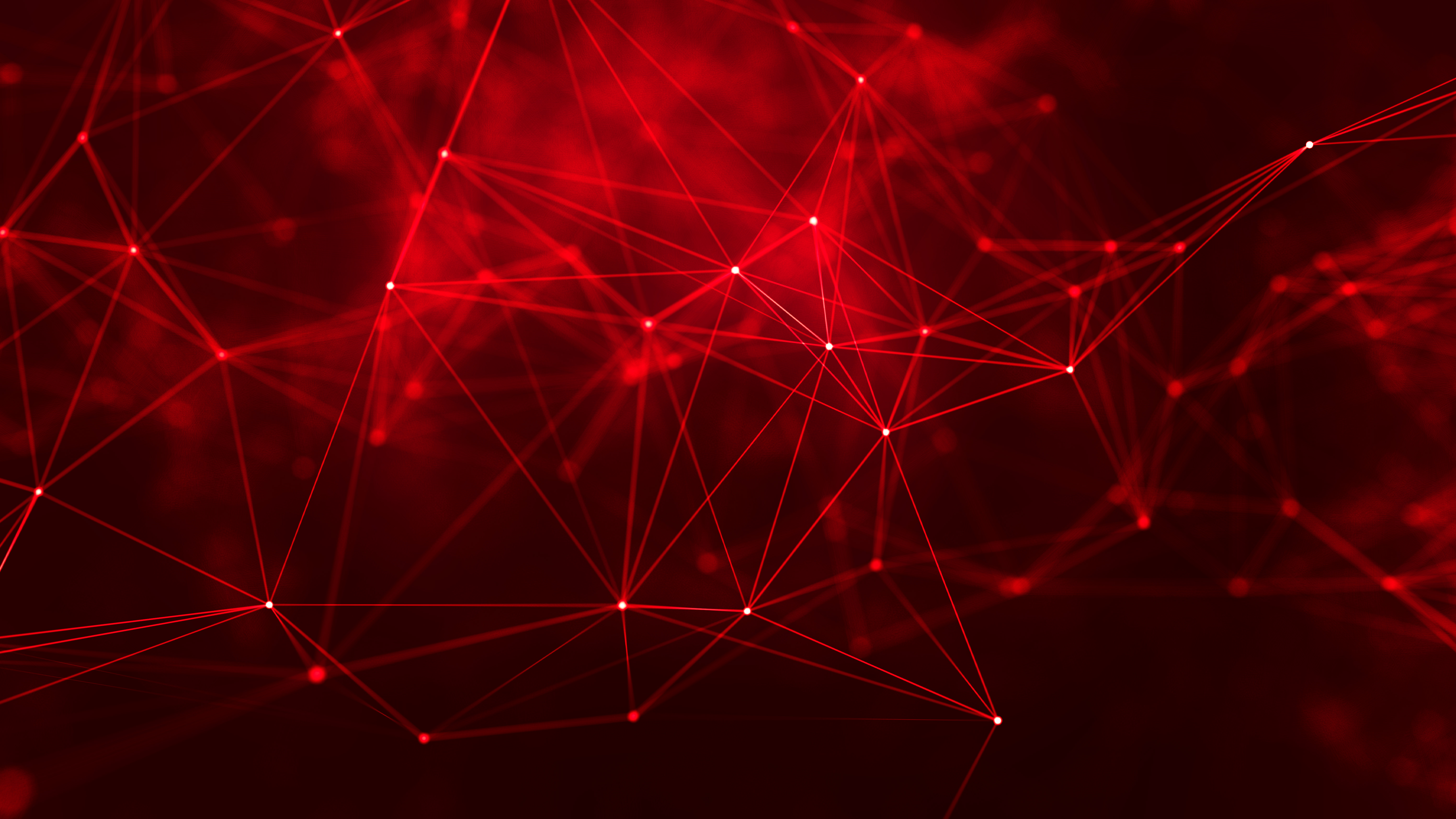 General 6080x3420 geometry cyberspace digital art red lines abstract red background