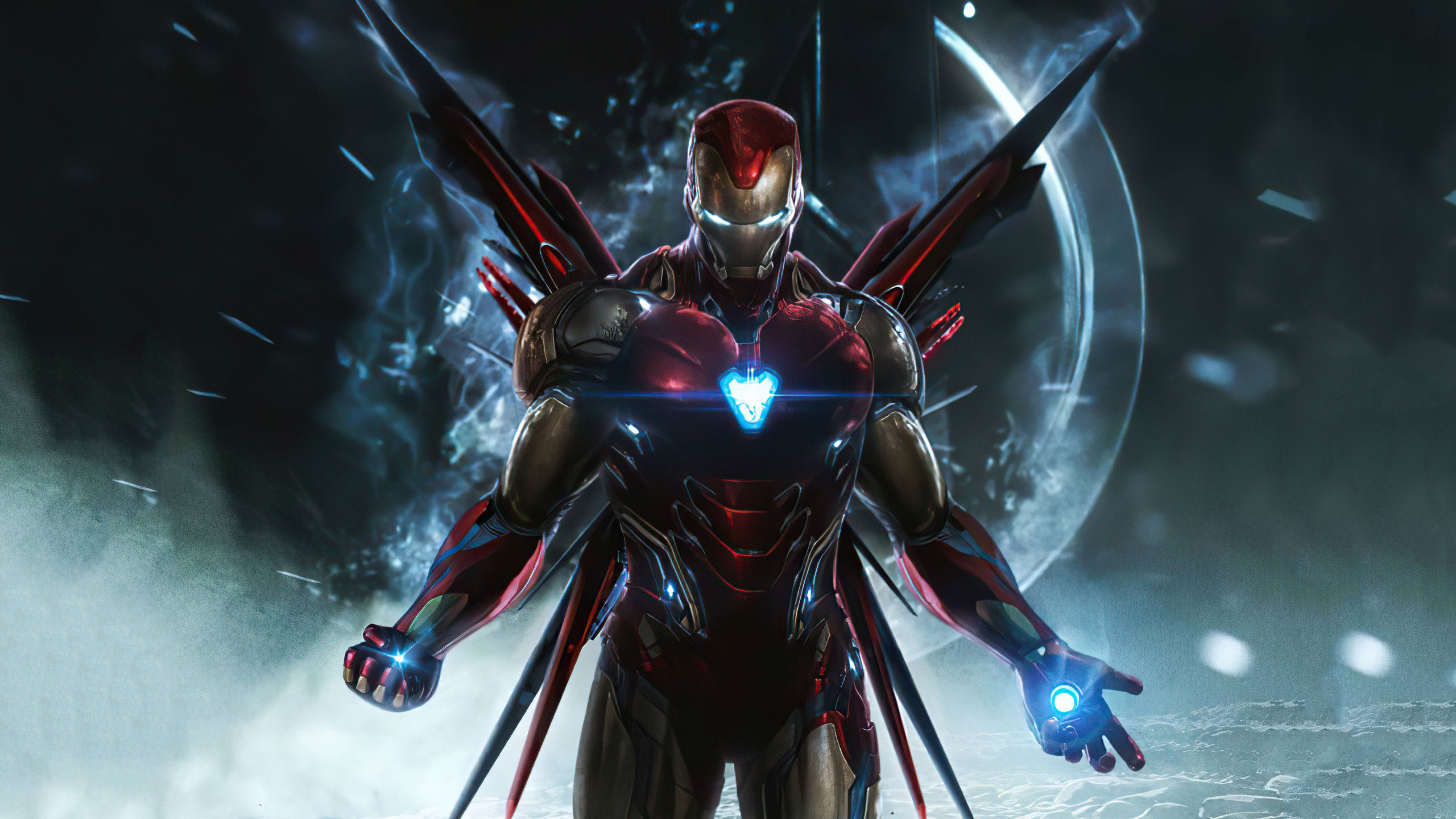 General 2560x1440 fan art digital art Iron Man Marvel Comics superhero