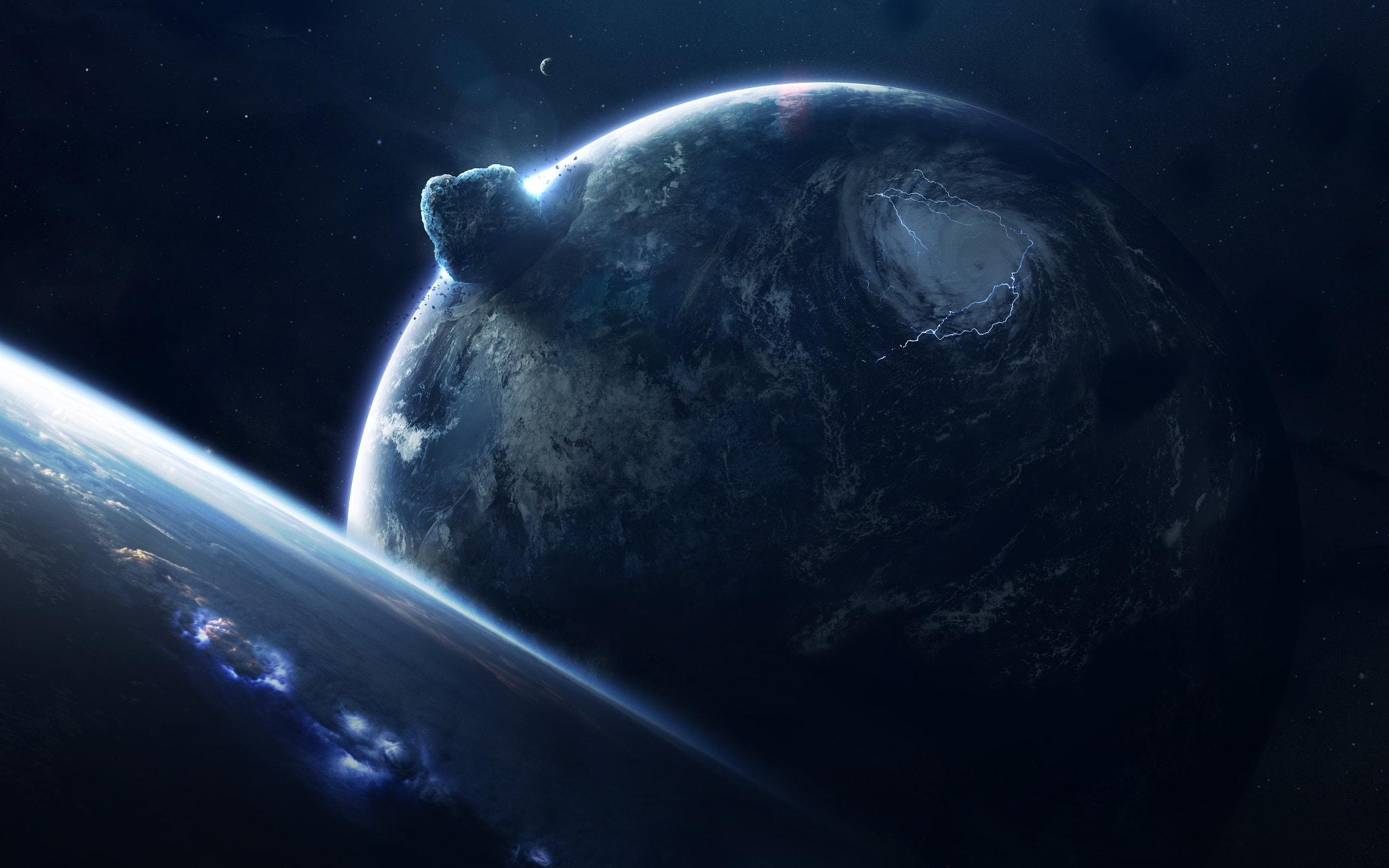General 2048x1280 Vadim Sadovski 500px space art space digital art planet