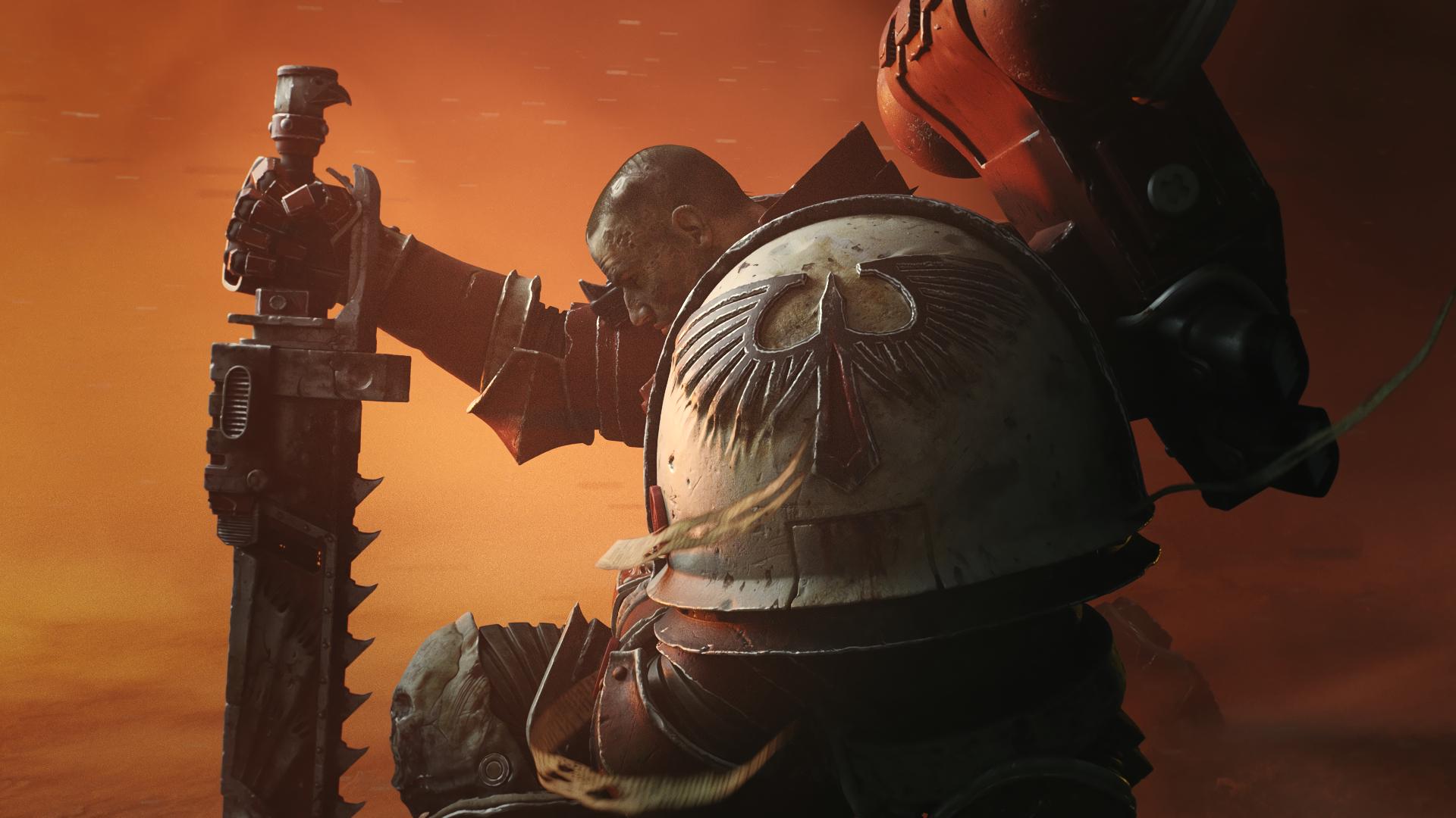 General 1920x1080 Dawn of War 3 Warhammer 40,000 fantasy art Space Marine