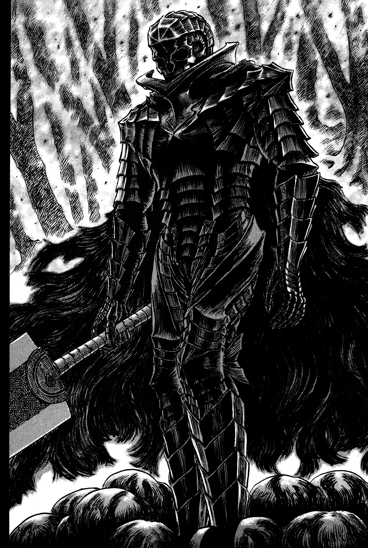 Anime 1207x1800 Berserk berserk armor Guts Kentaro Miura