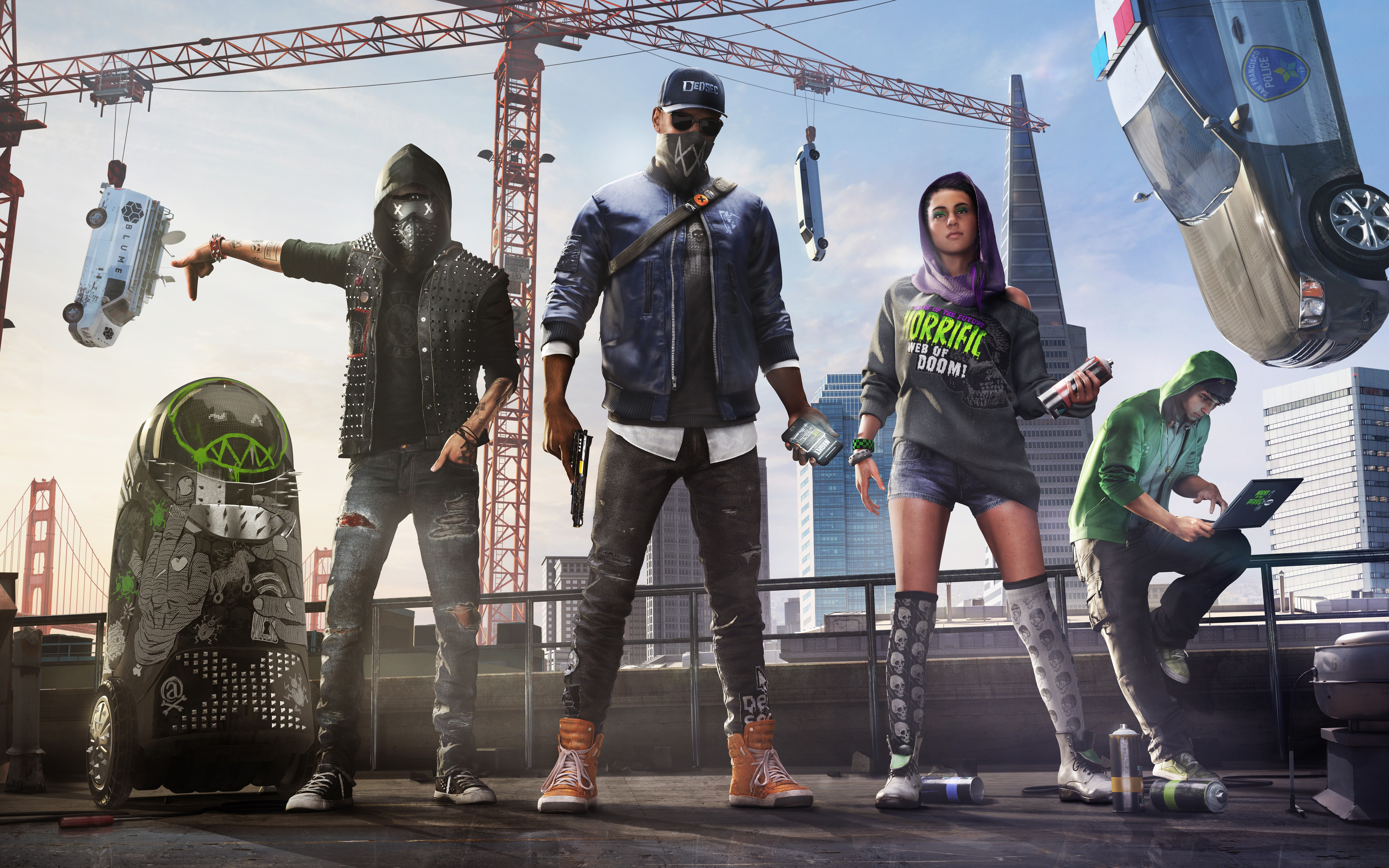 General 7680x4800 Upcoming Games Watch_Dogs 2 hackers hacking
