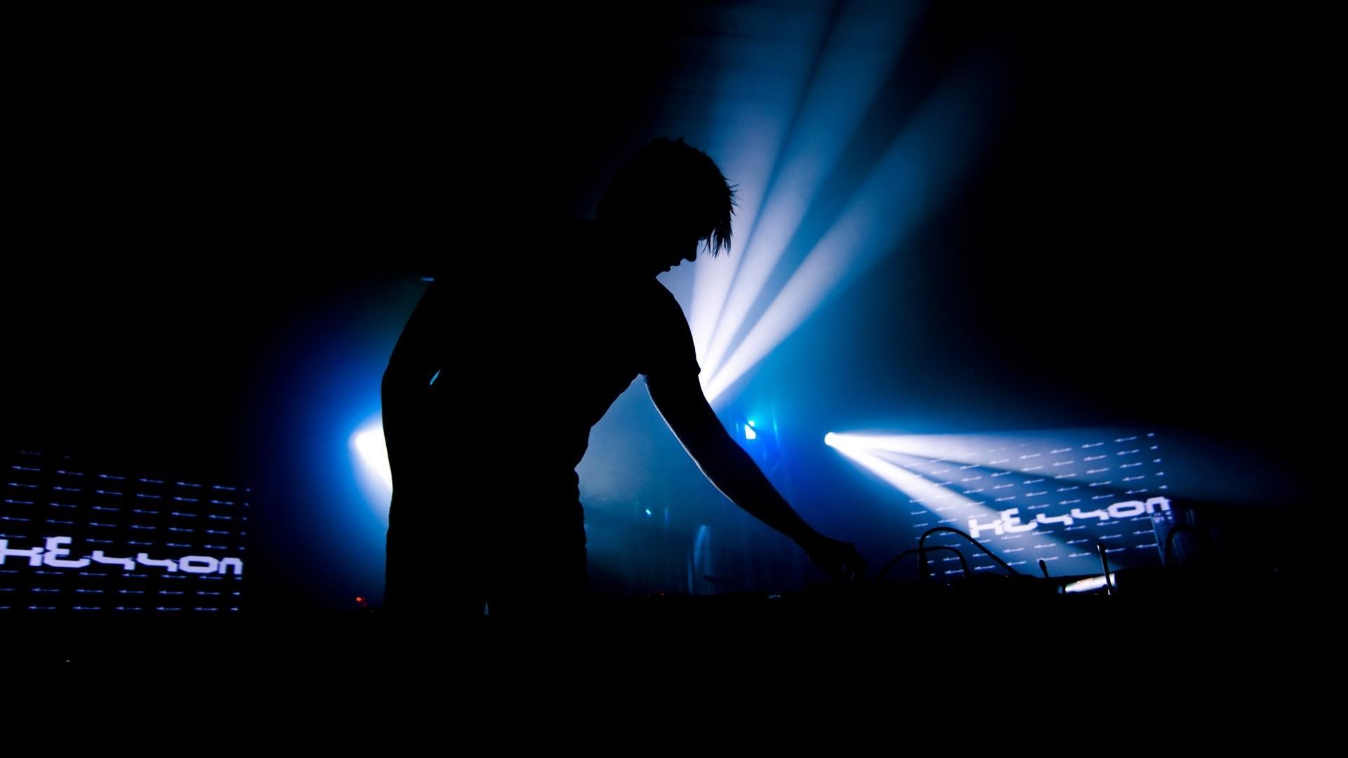 People 1920x1080 music DJ men blue