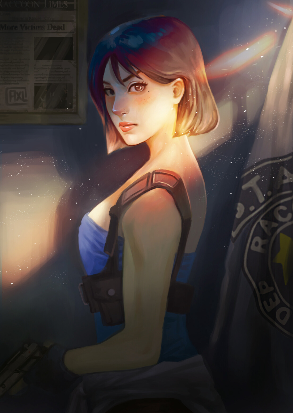 General 1240x1750 Jill Valentine Resident Evil 3 Remake Capcom S.T.A.R.S Resident Evil 2 Resident Evil 4 Resident Evil 5 Claire Redfield Ada Wong
