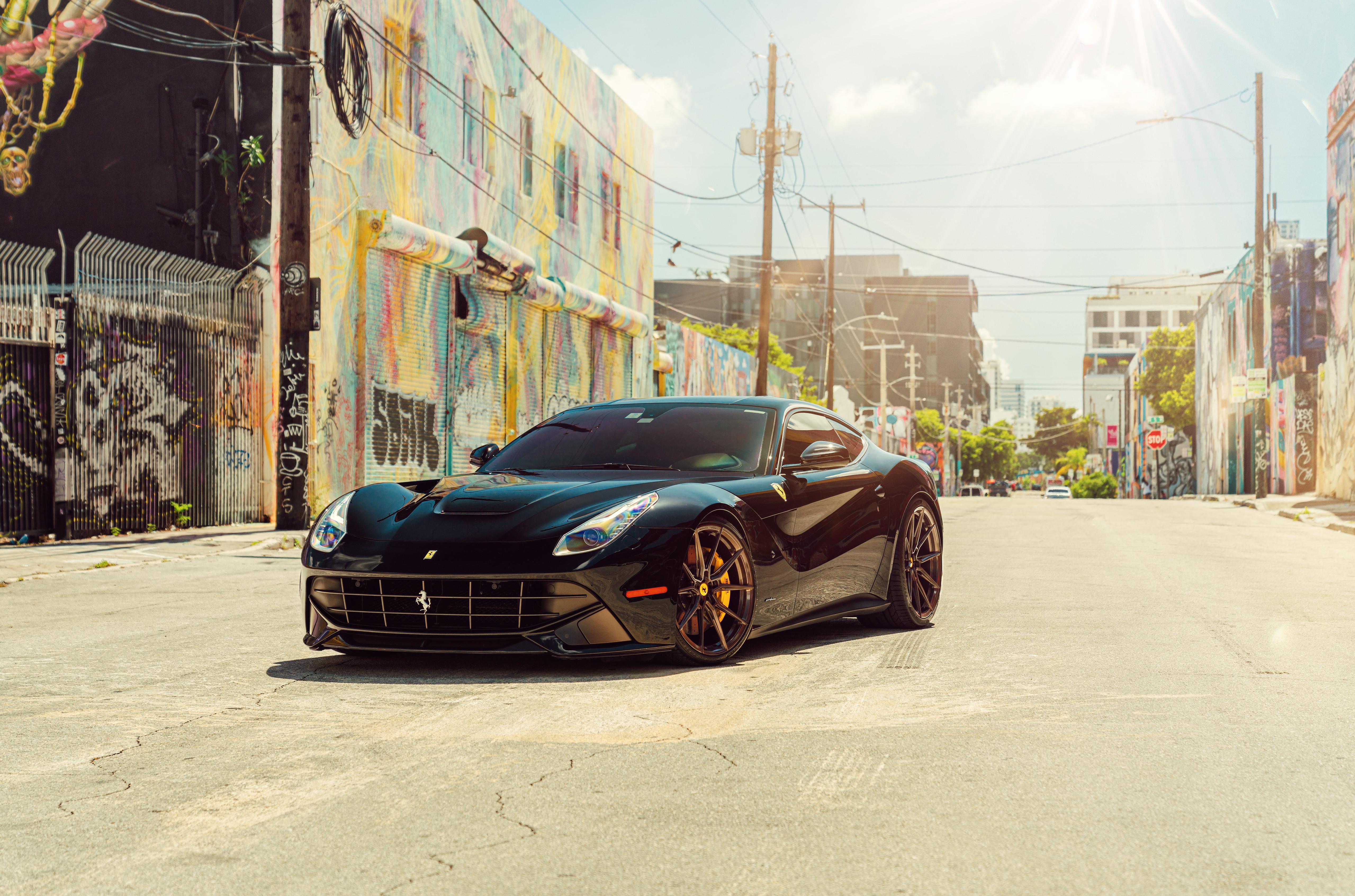 General 5119x3387 Ferrari Ferrari F12berlinetta automotive Vossen car