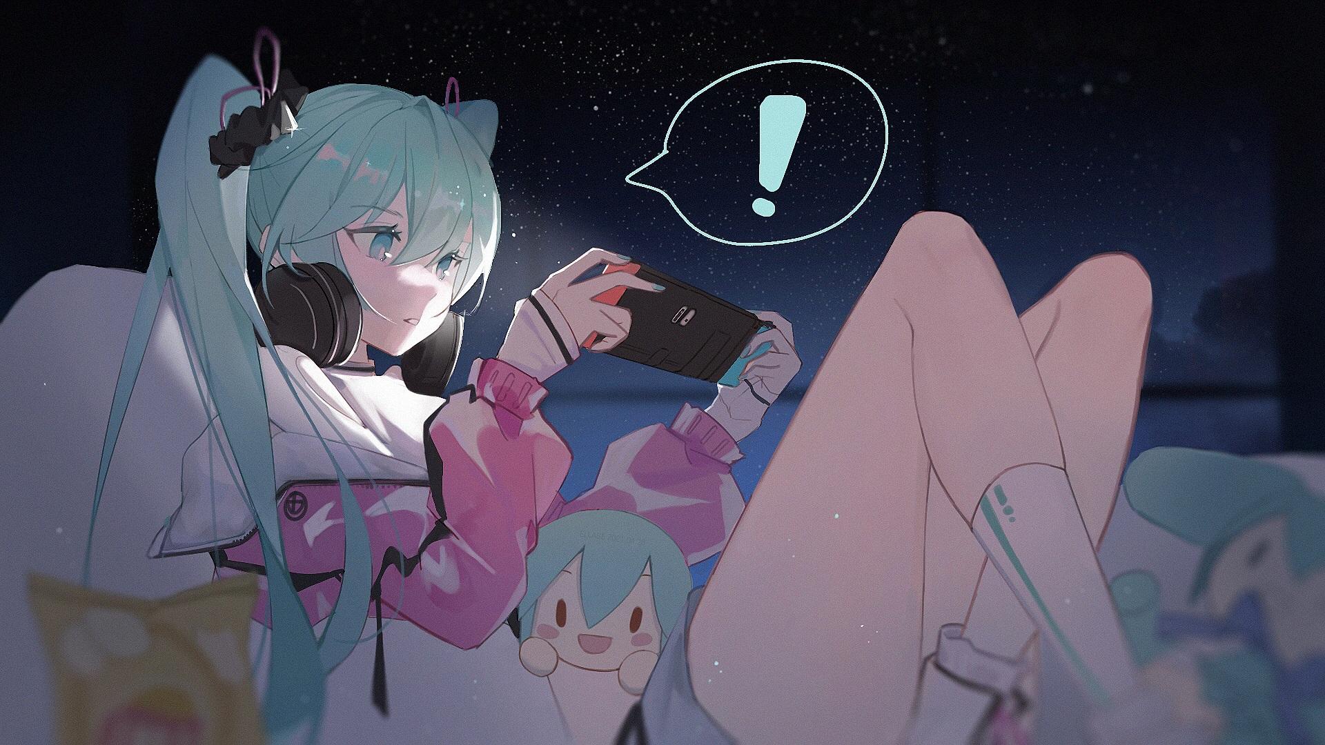 Anime 1920x1080 anime anime girls Hatsune Miku Nintendo Switch