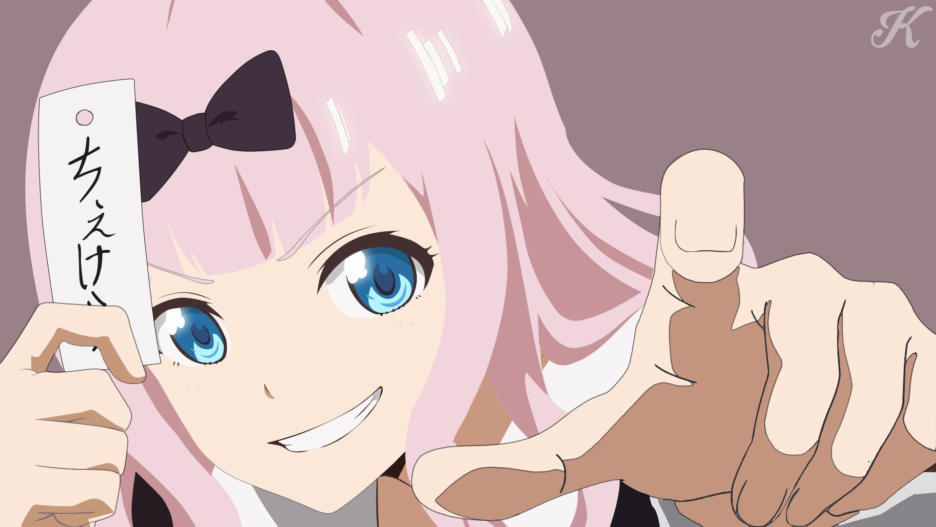 Anime Anime Girls Chika Fujiwara Kaguya Sama Love Is War