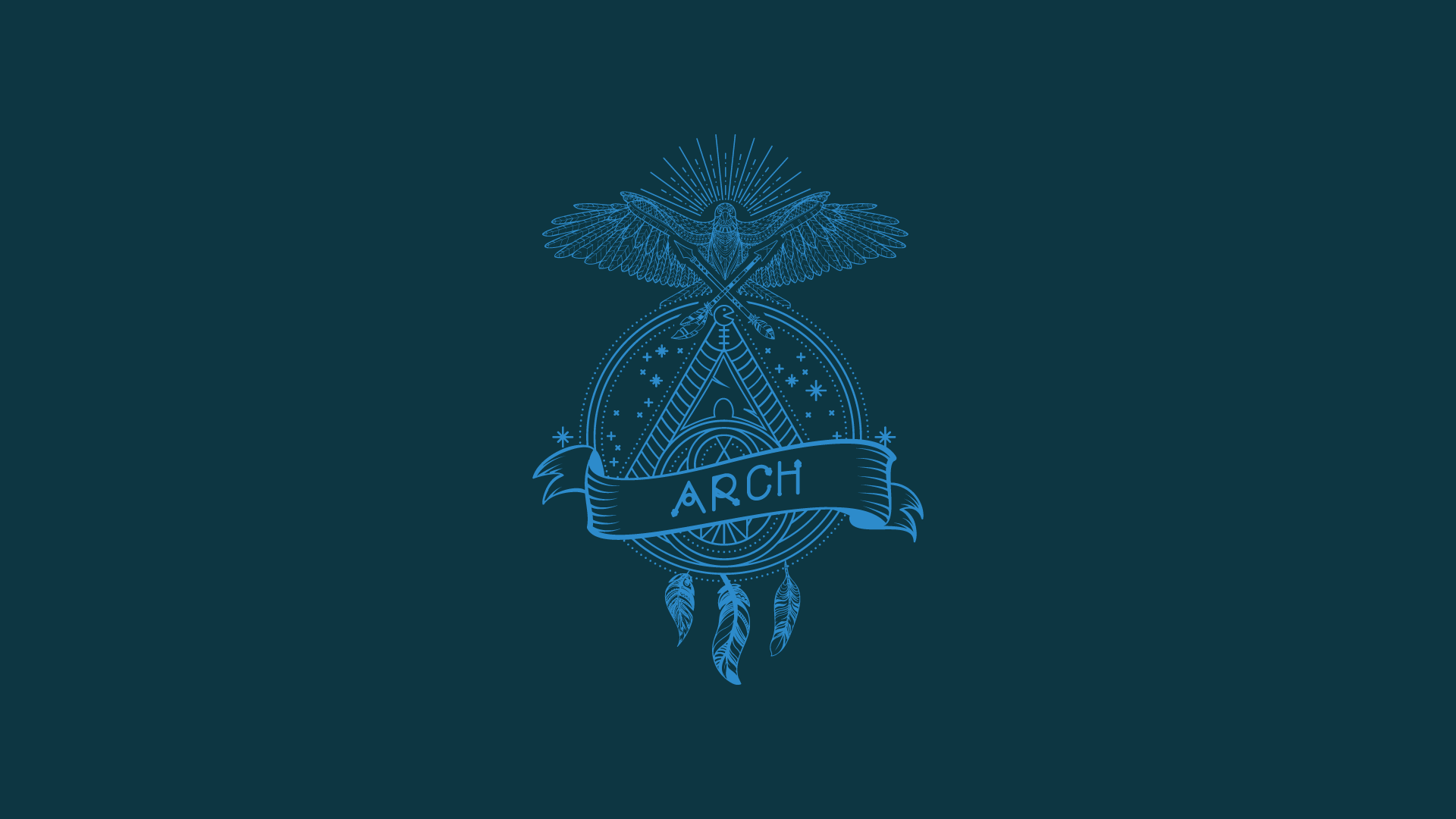 General 1920x1080 Arch Linux Linux open source