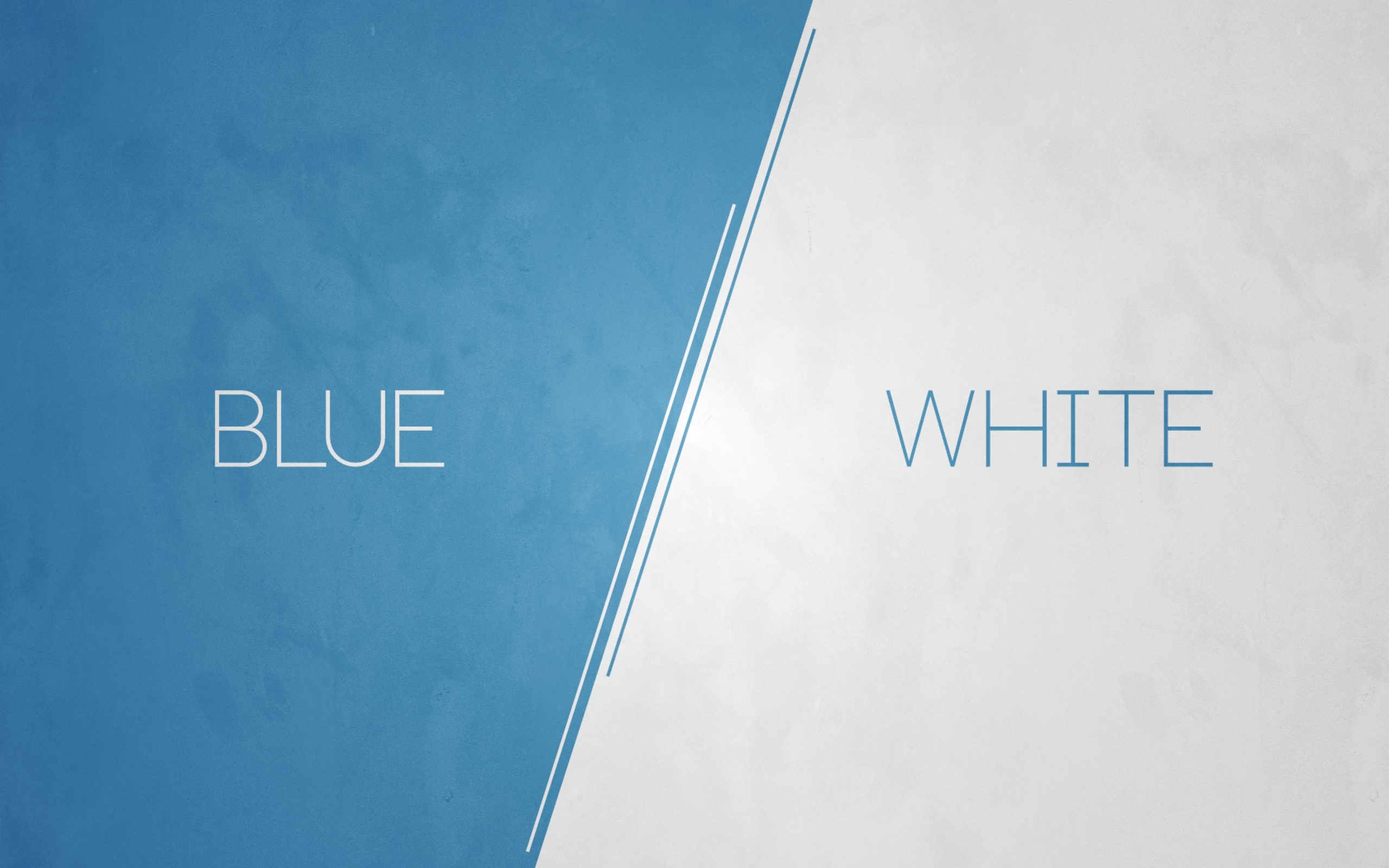 General 2560x1600 abstract modern minimalism blue white digital art