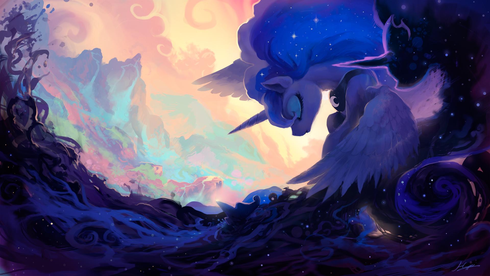 General 1920x1080 My Little Pony Princess Luna