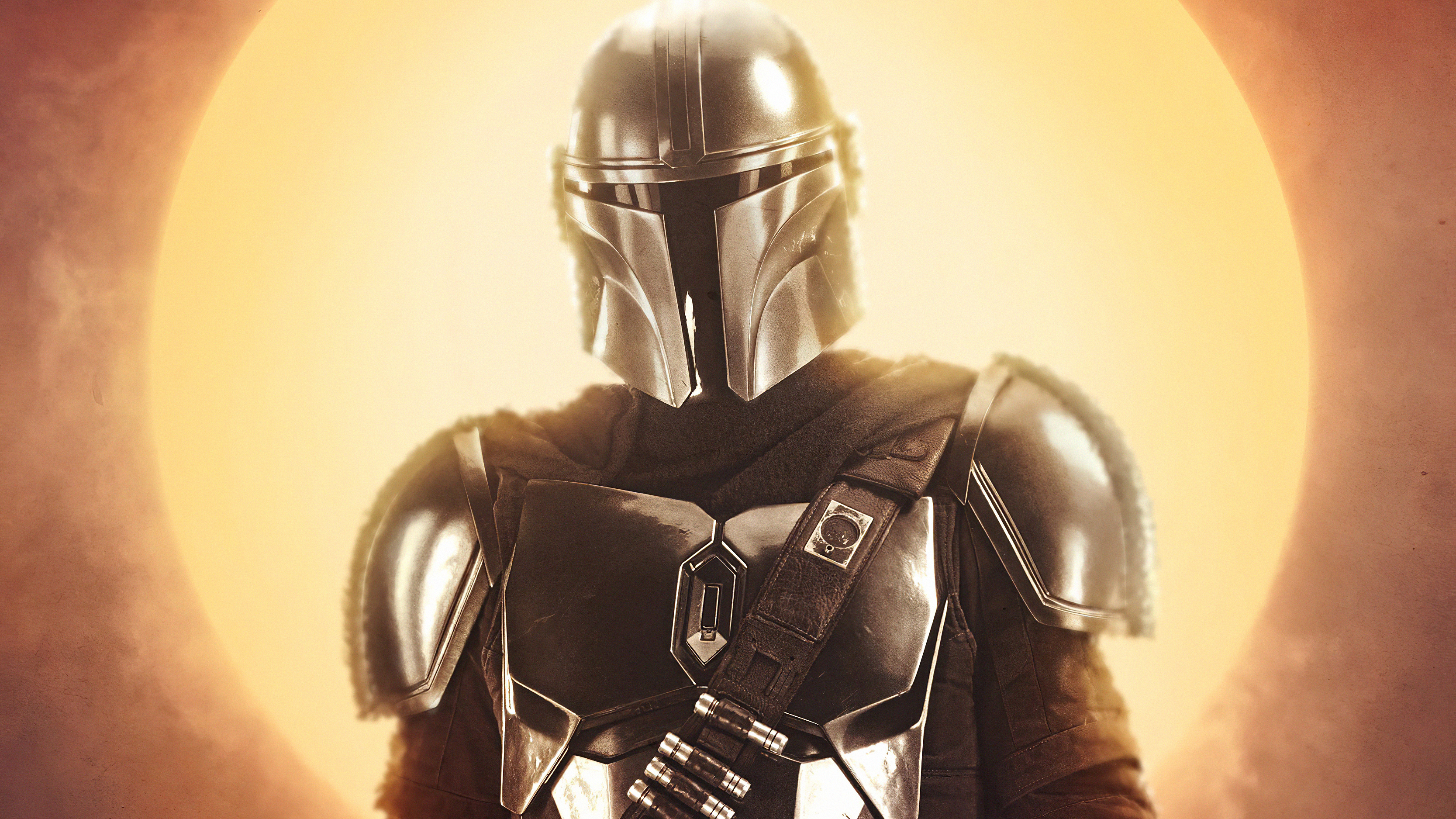 People 3334x1875 The Mandalorian Star Wars TV Series bounty hunter science fiction helmet