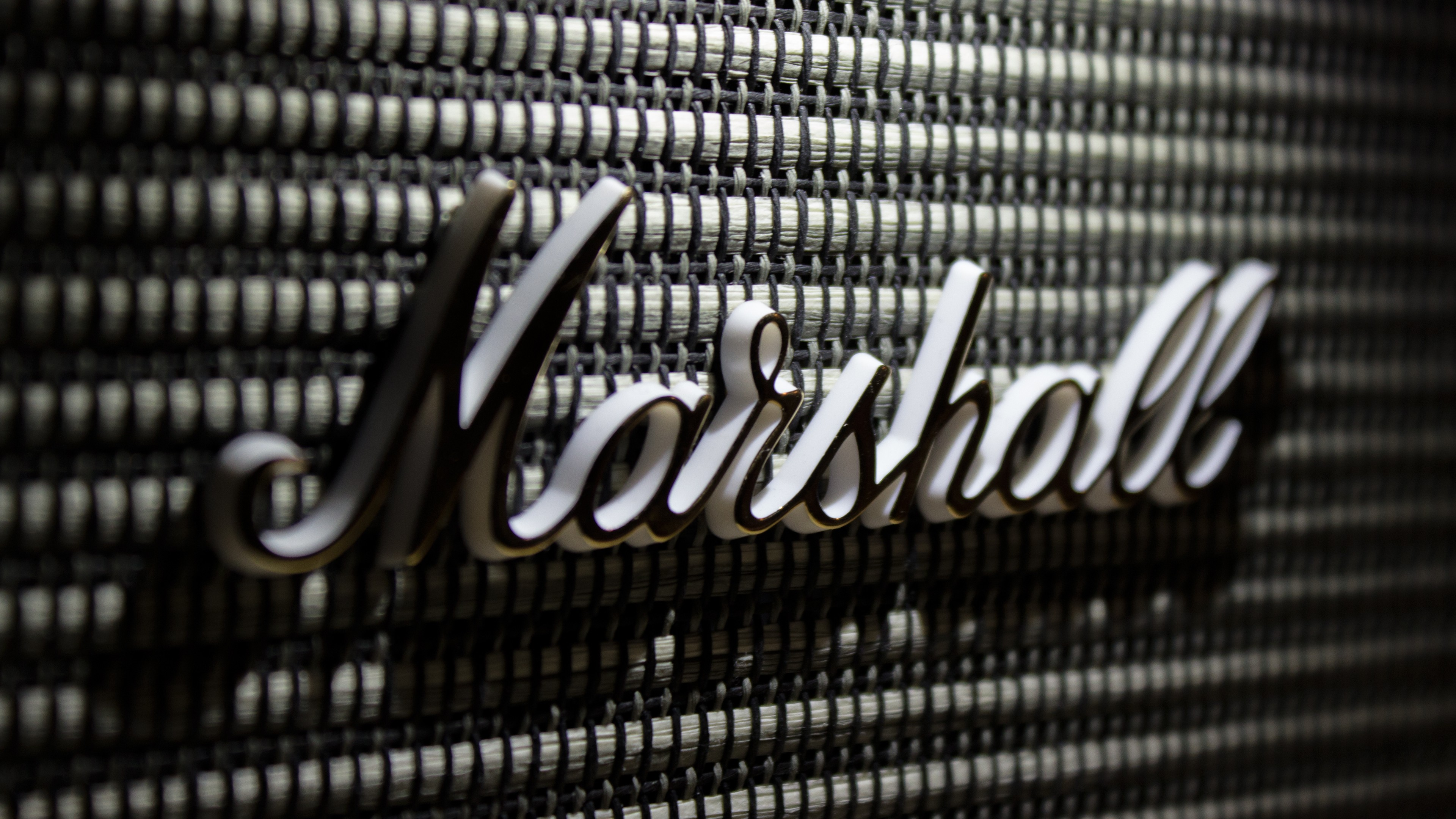 General 3840x2160 Marshall speakers technology
