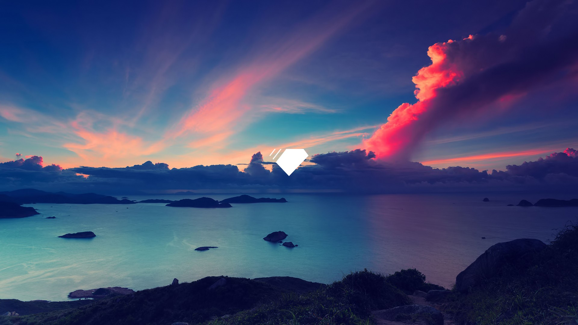General 1920x1080 sky blue water nature outdoors