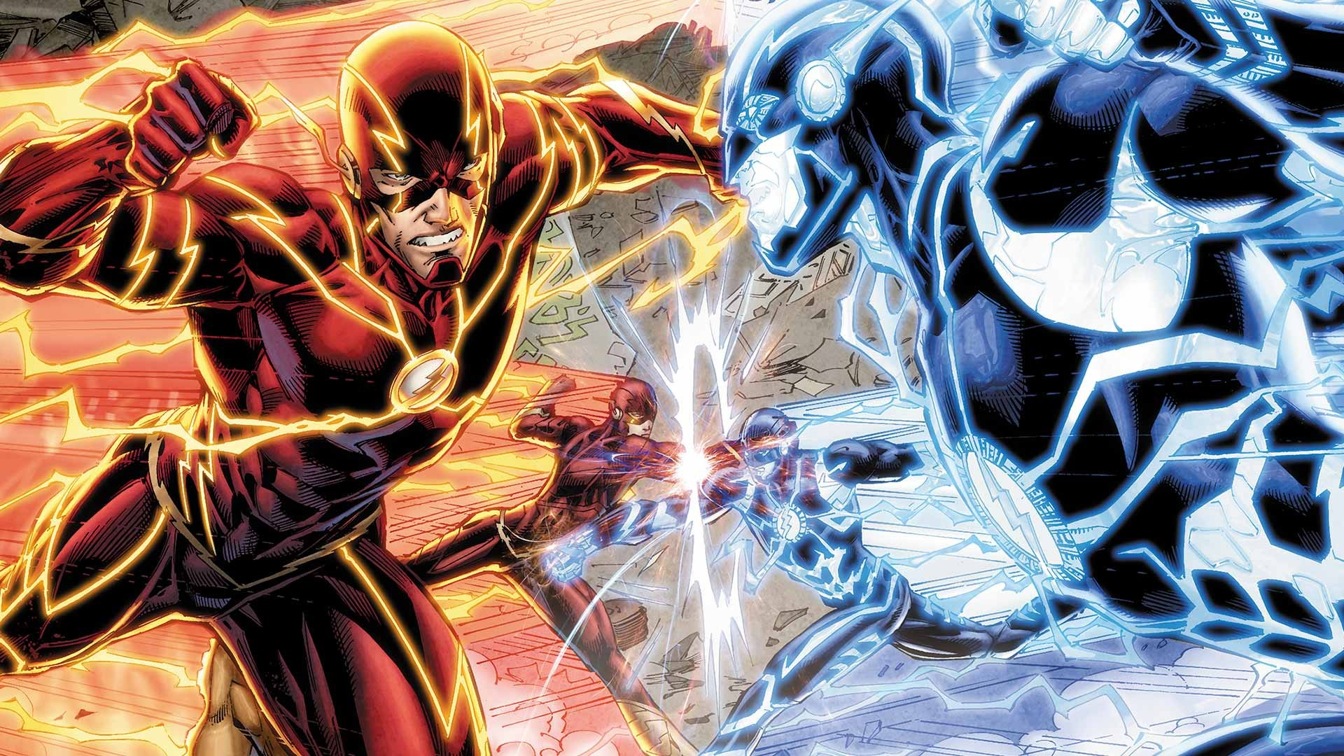 General 1920x1080 DC Comics Flash superhero Zoom (fictional character)