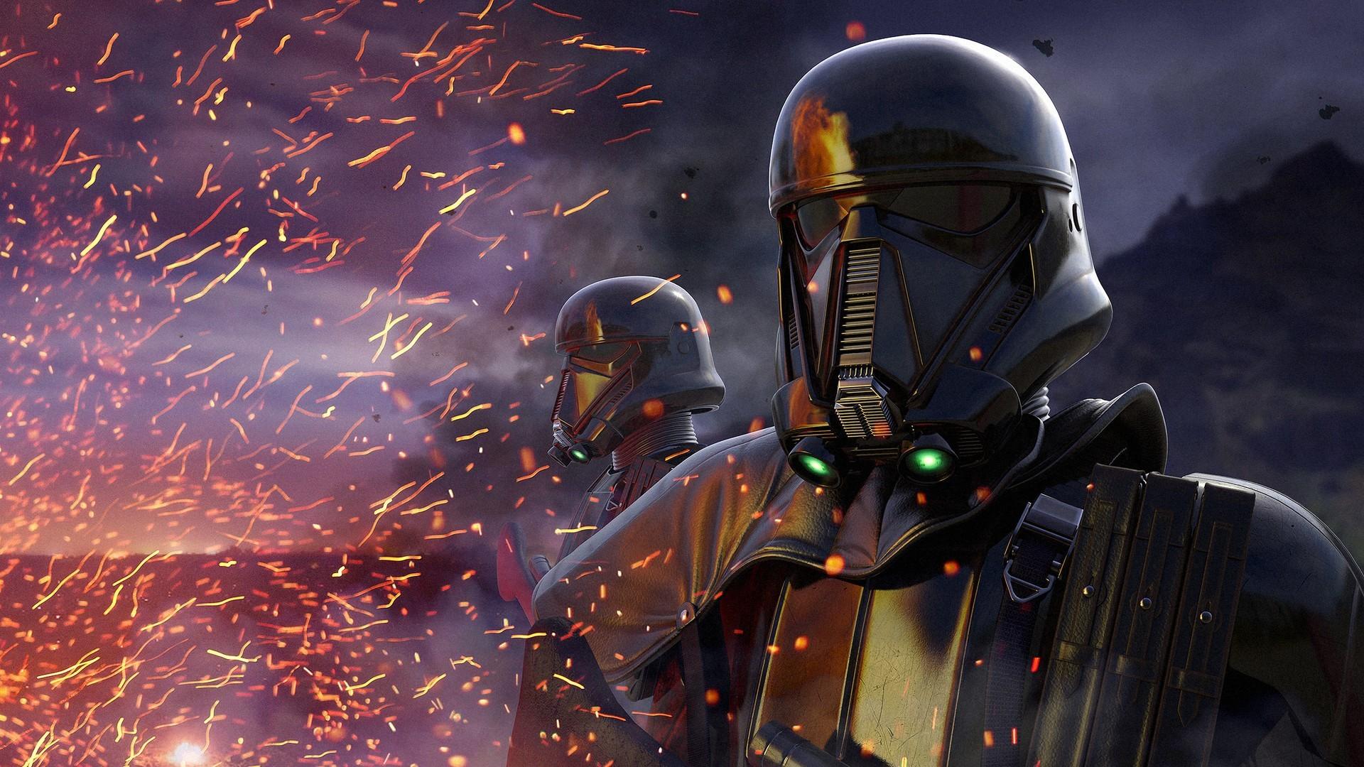 General 1920x1080 Star Wars Storm Troopers Rogue One: A Star Wars Story digital art science fiction helmet
