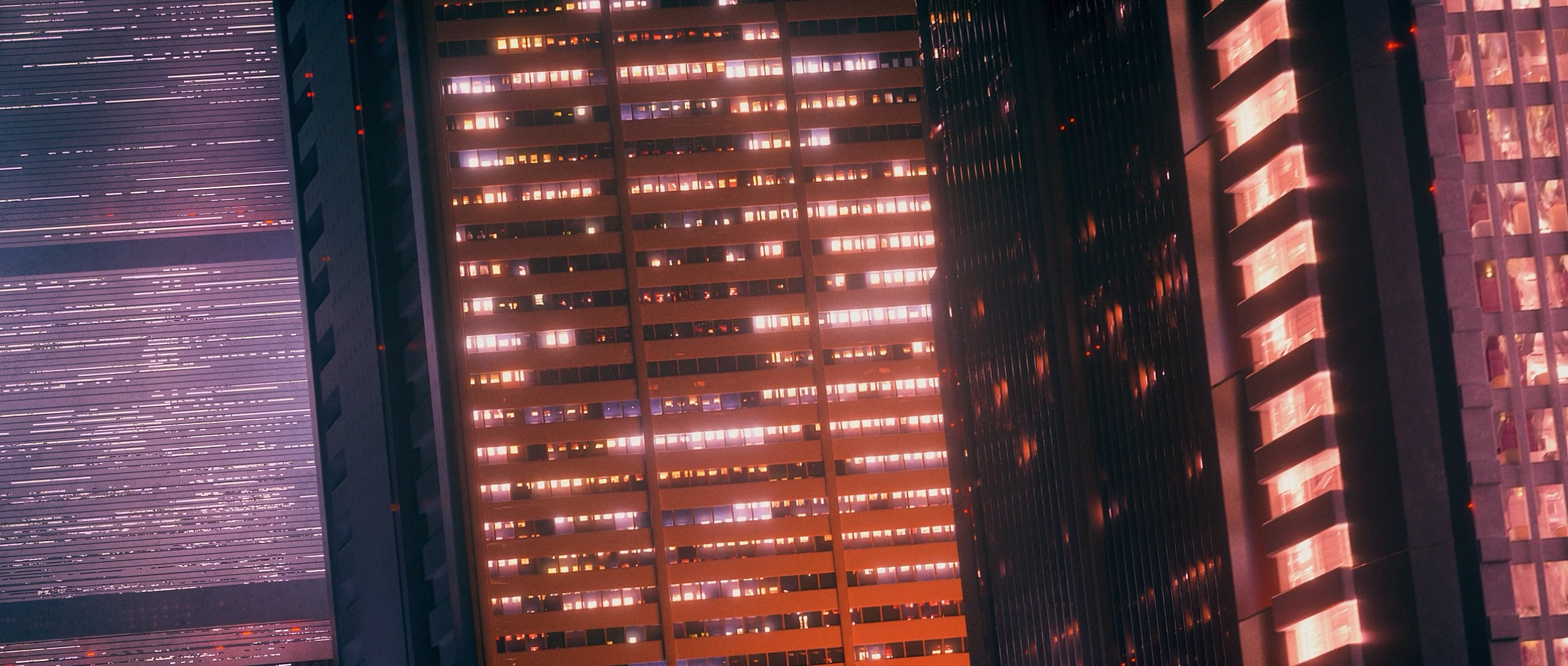 General 2560x1088 Akira awaken akira anime cyberpunk building neo-tokyo city Japan