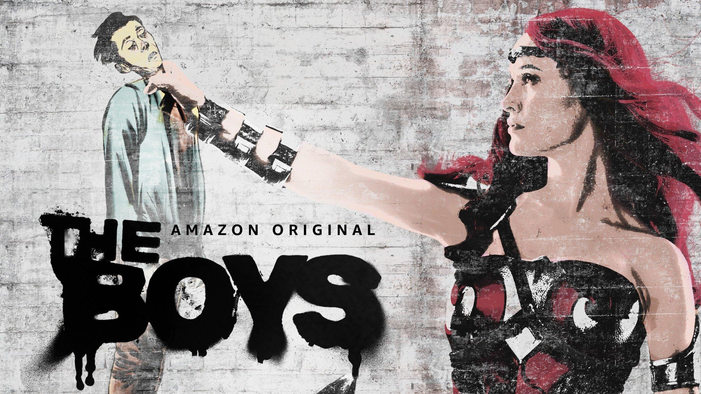 People 2400x1350 The Boys (series) TV Series queen maeve Dominique McElligott the boys(serie)