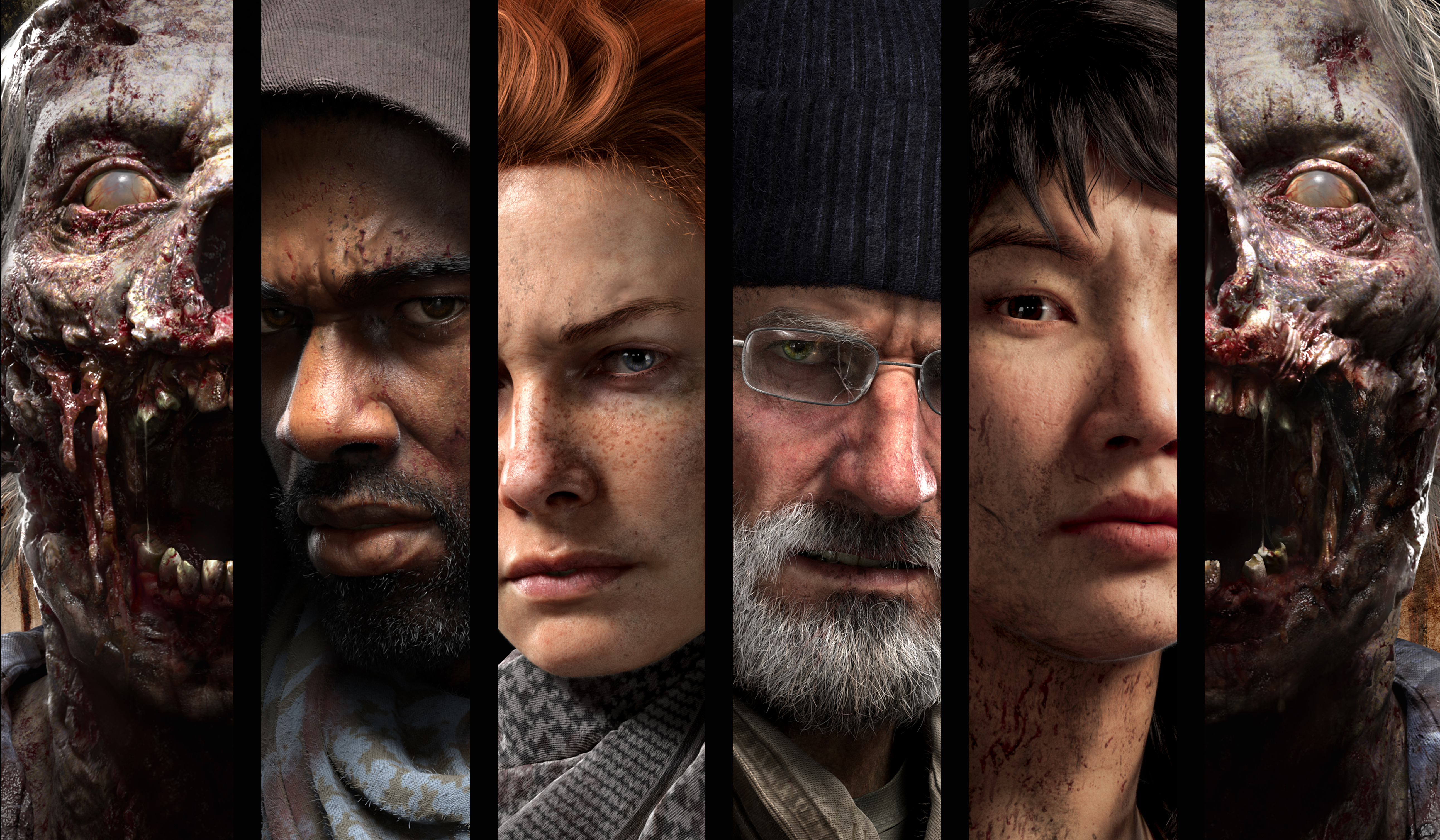 General 5169x3016 The Walking Dead video games collage video game art