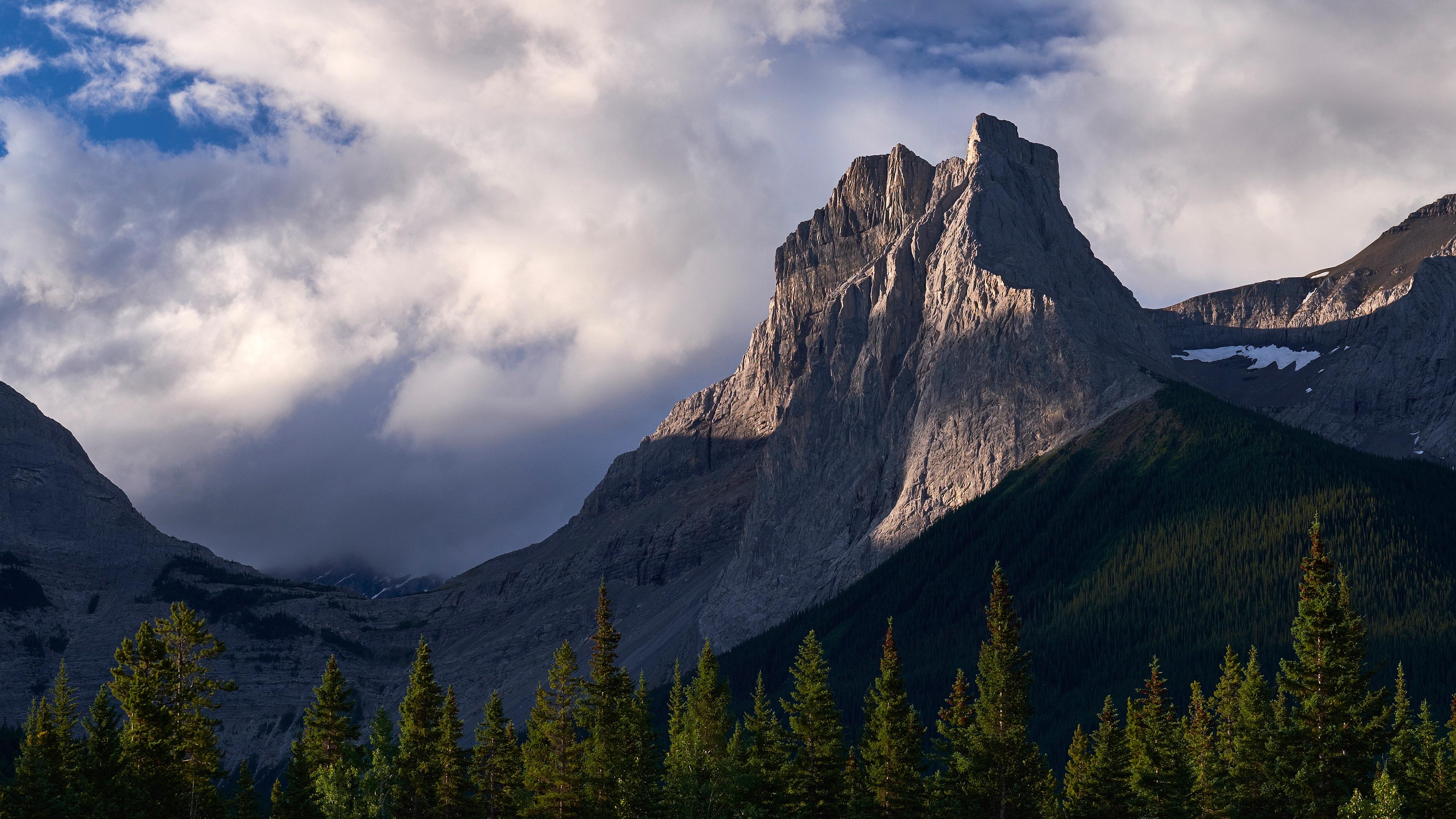 General 3840x2160 nature landscape mountains clouds